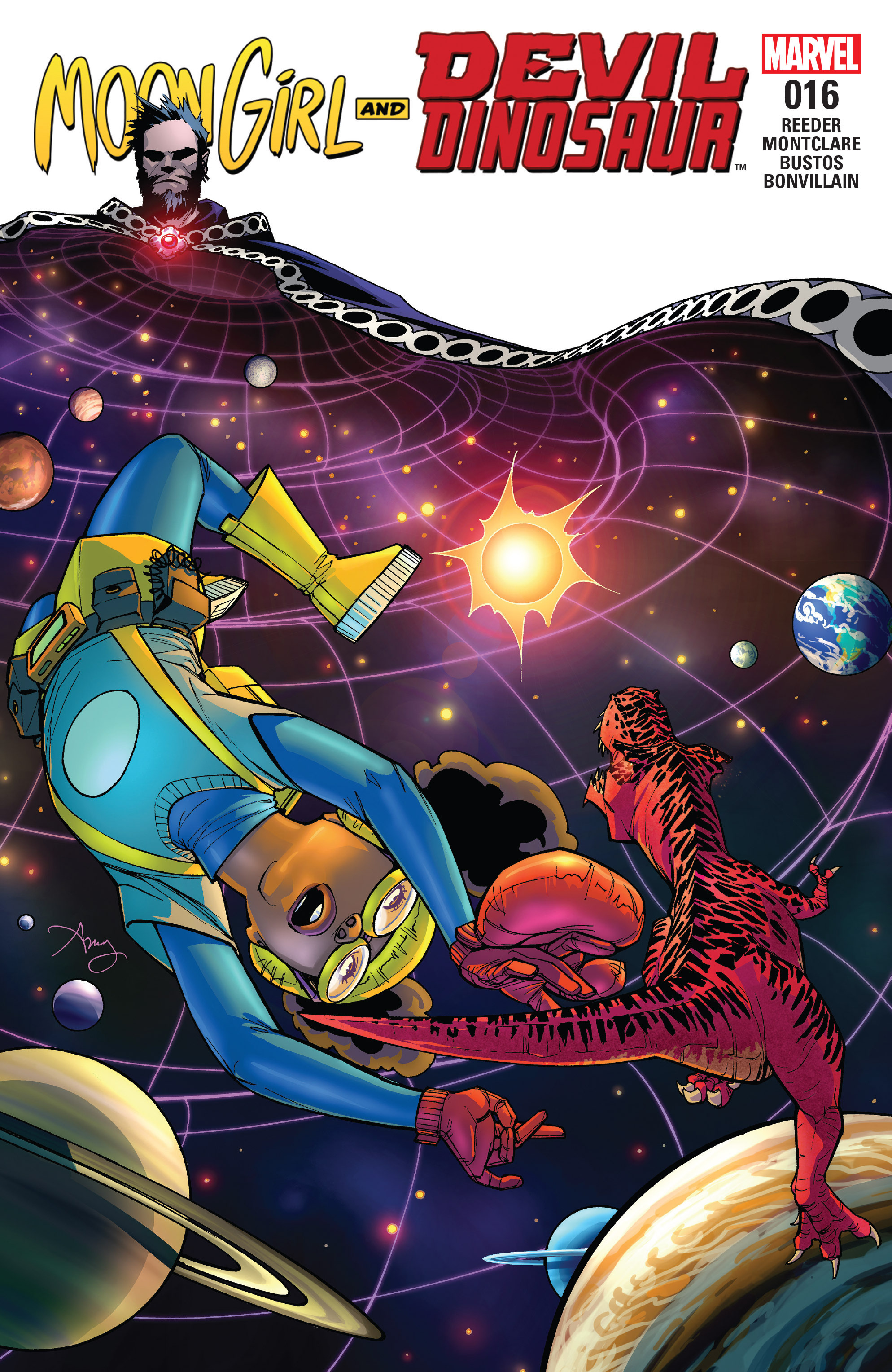 Moon Girl And Devil Dinosaur issue 16 - Page 1