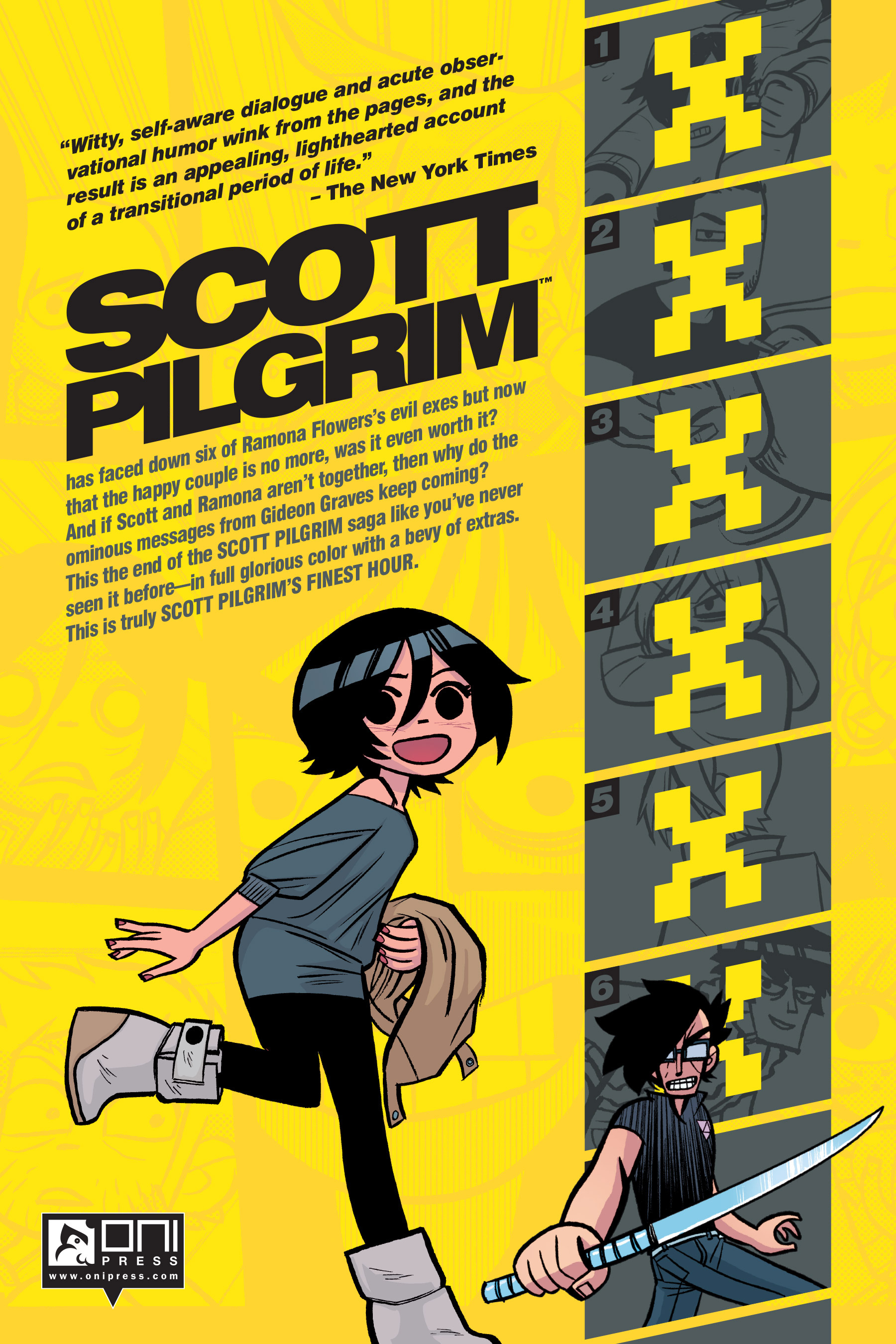 Read online Scott Pilgrim comic -  Issue #6 - 284