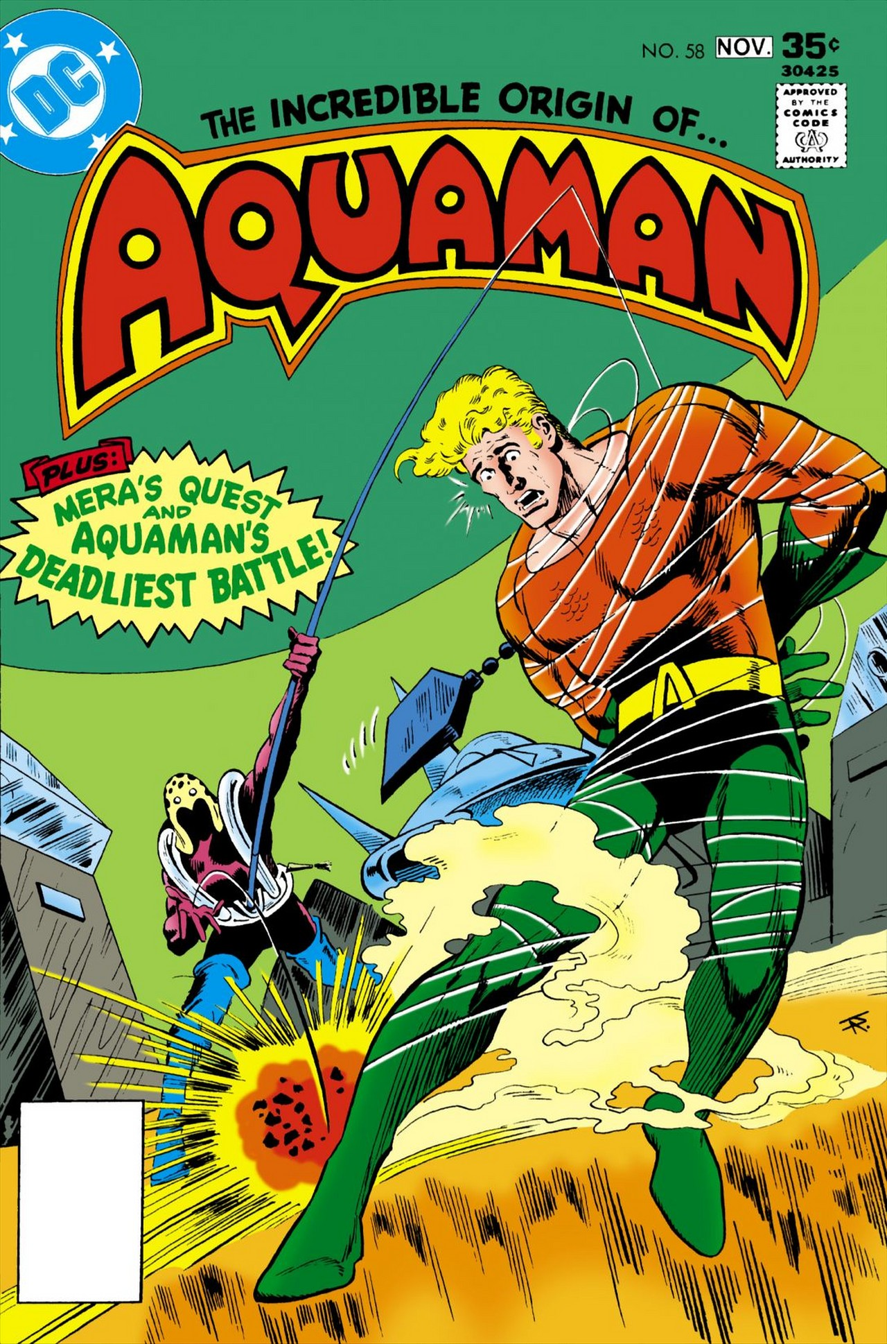 Read online Aquaman (1962) comic -  Issue #58 - 1