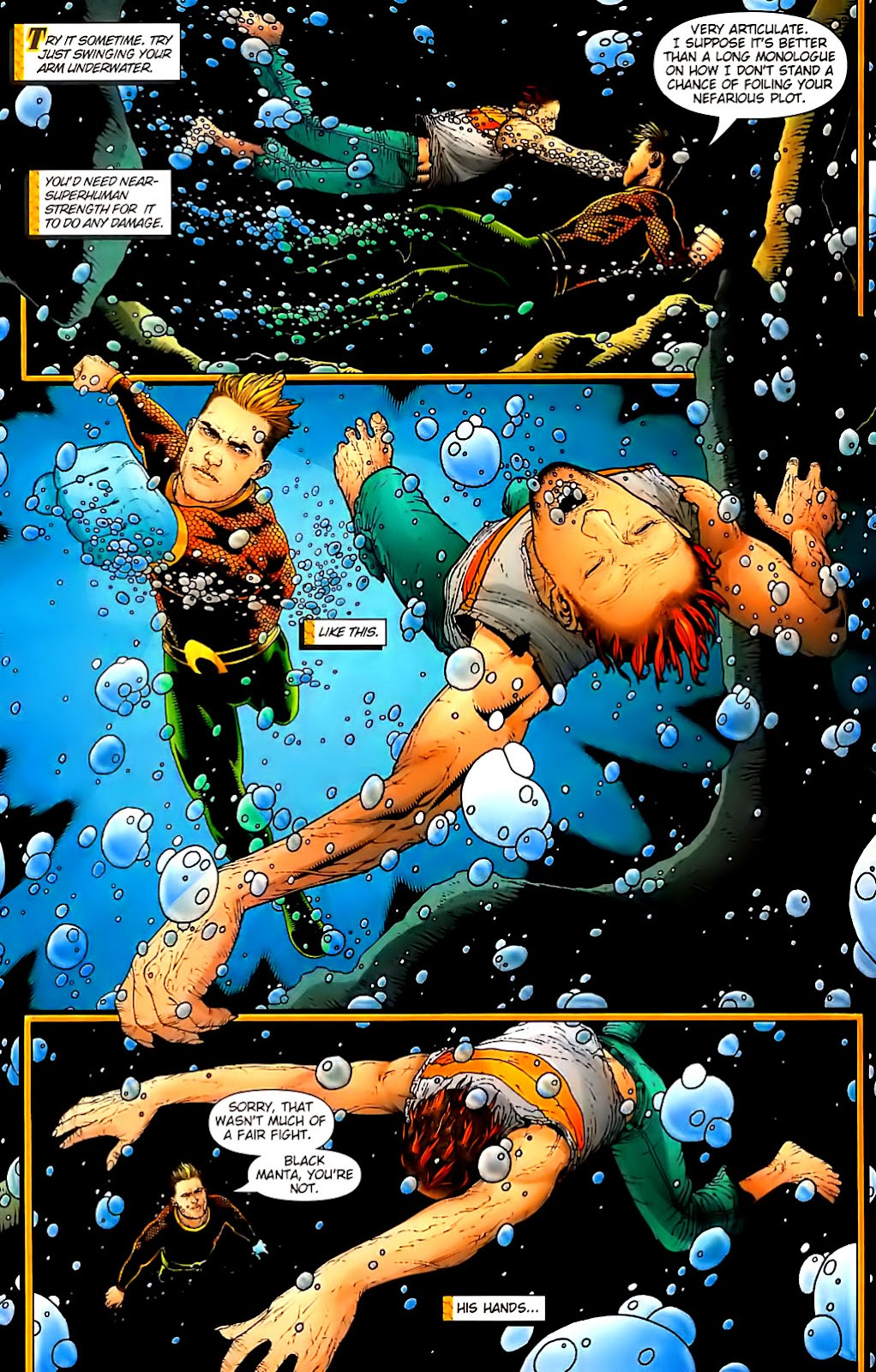 Aquaman (2003) Issue #30 #30 - English 18