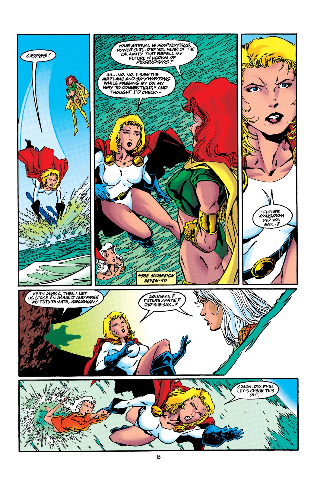 Aquaman (1994) Issue #41 #47 - English 9