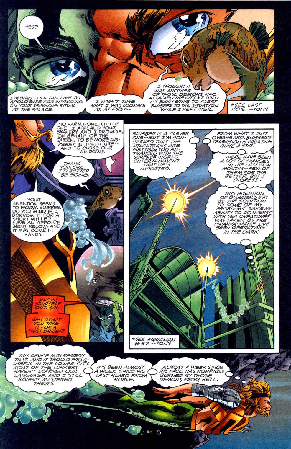 Aquaman (1994) Issue #62 #68 - English 6