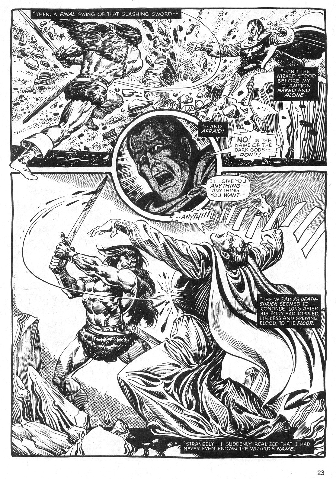 The Savage Sword Of Conan Issue #29 #30 - English 23
