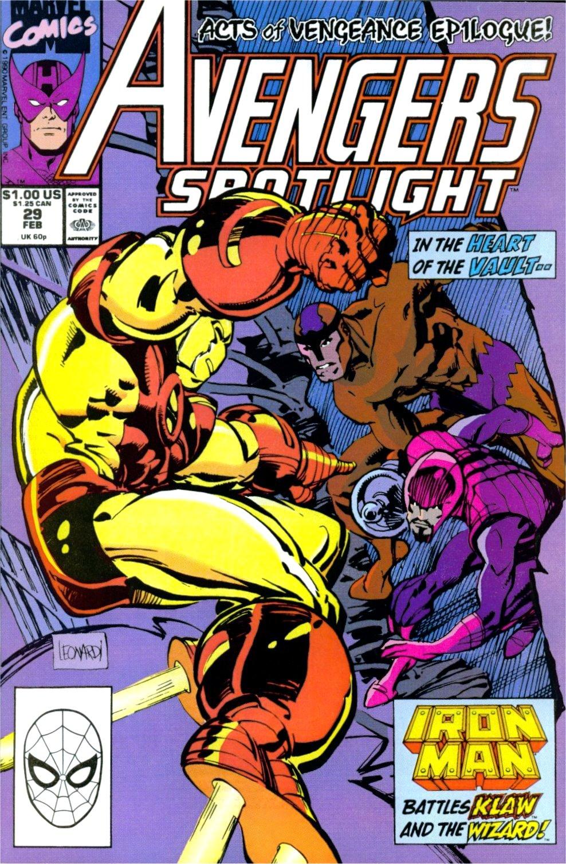 Avengers Spotlight 29 Page 1