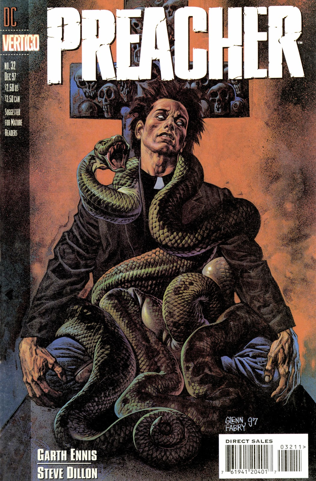 Preacher Issue #32 #41 - English 1