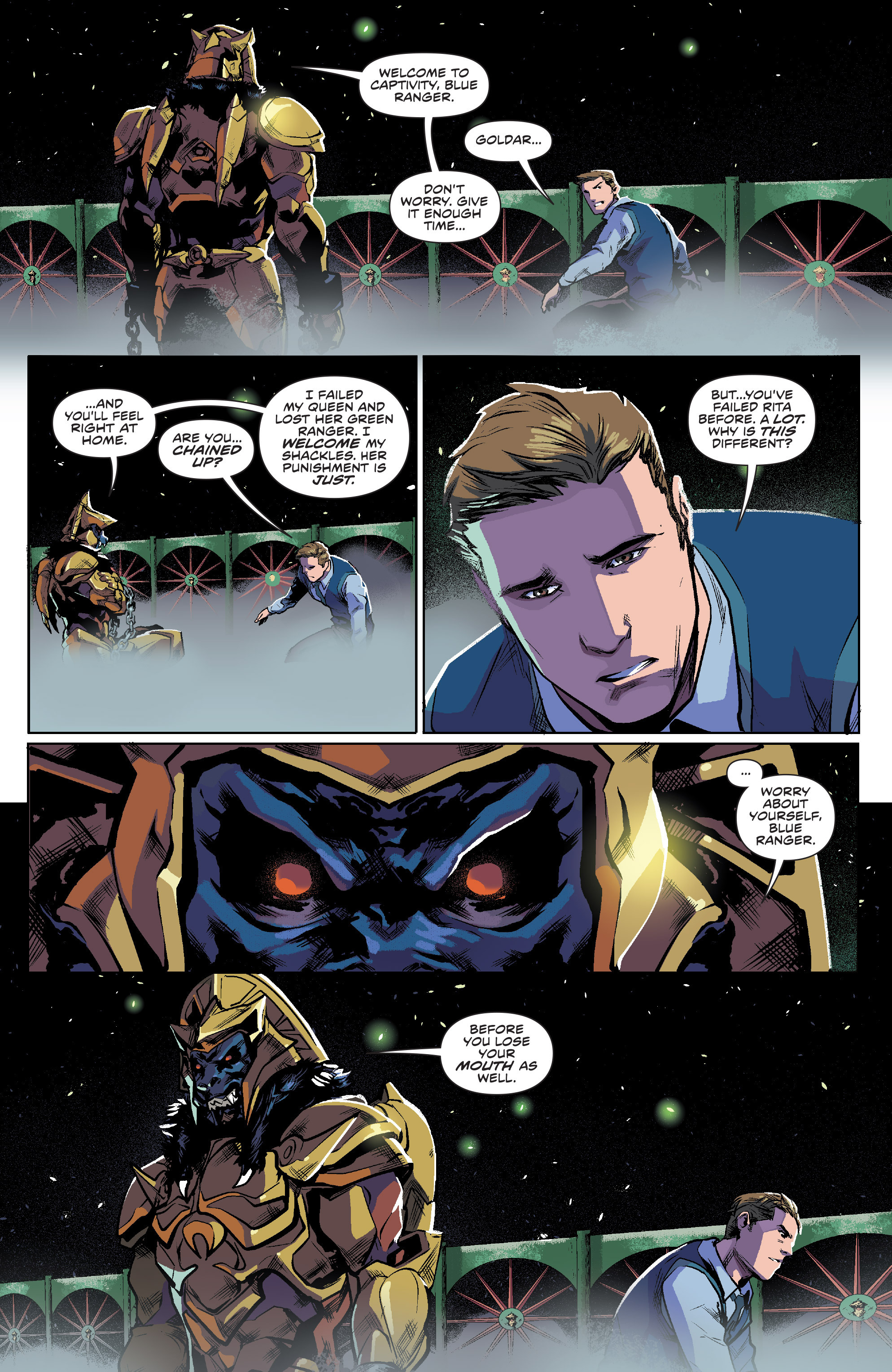 Read online Mighty Morphin Power Rangers comic -  Issue #7 - 4