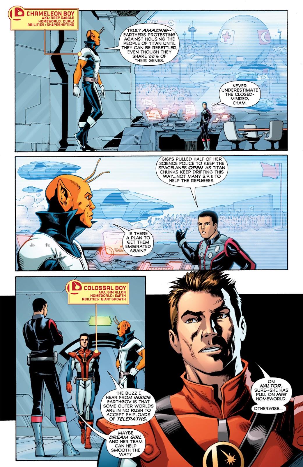 Legion of Super-Heroes (2010) Issue #2 #3 - English 12