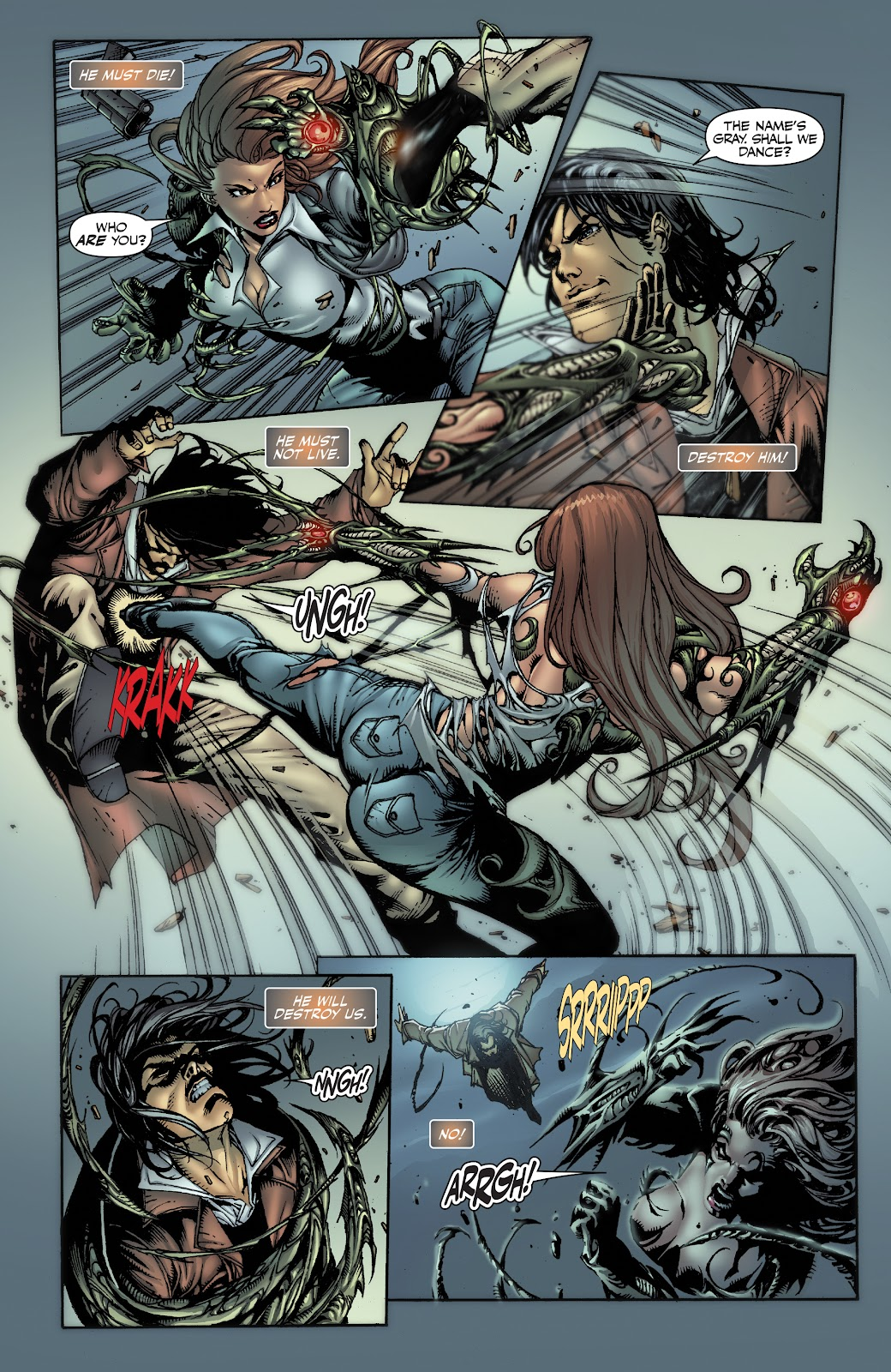 Read online Witchblade: Shades of Gray comic -  Issue #1 - 17