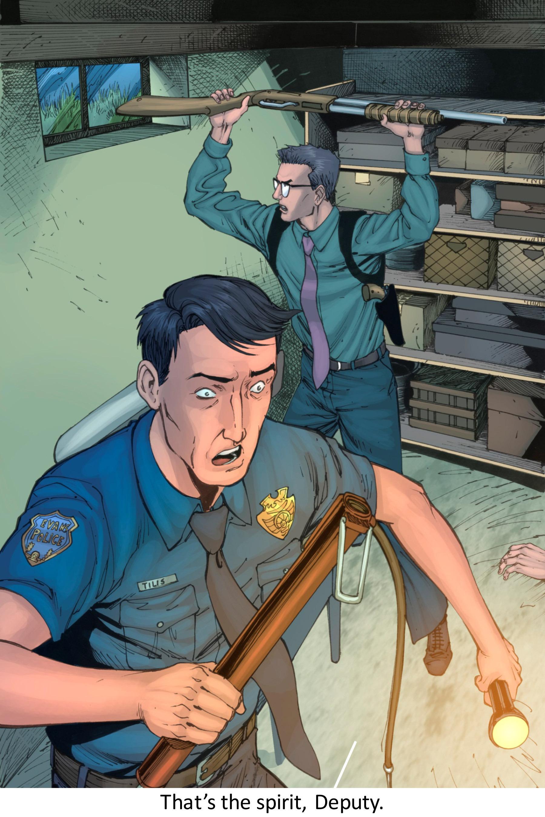 Read online Z-Men comic -  Issue #3 - 107