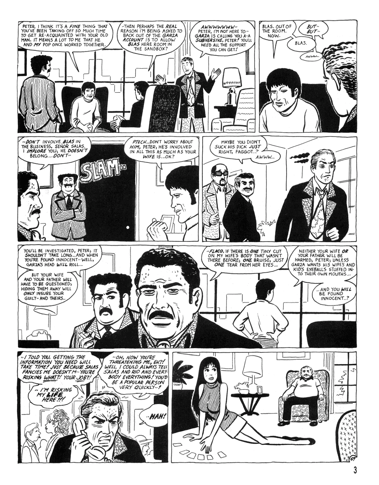 Love and Rockets (1982) Issue #34 #32 - English 5