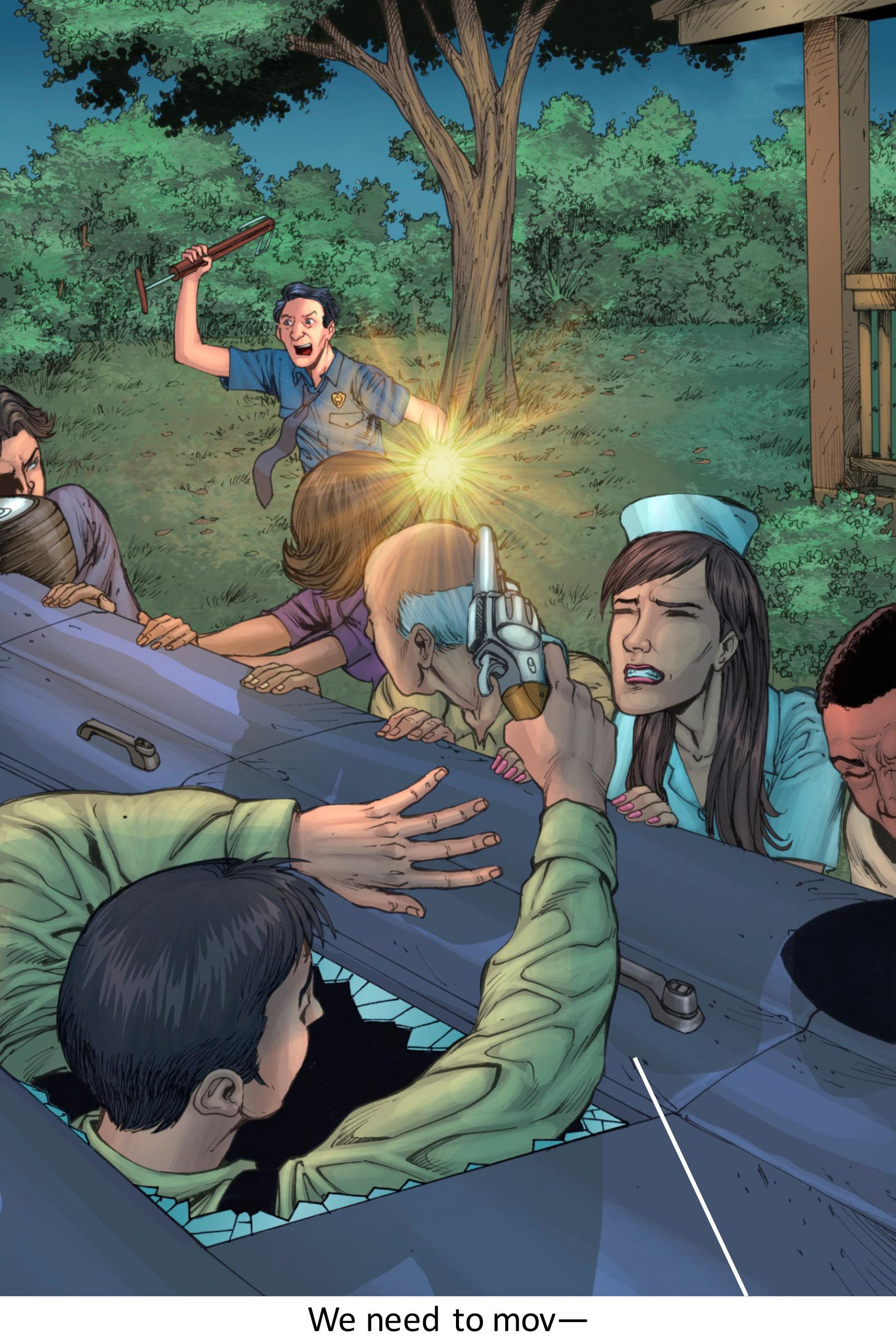 Read online Z-Men comic -  Issue #3 - 122