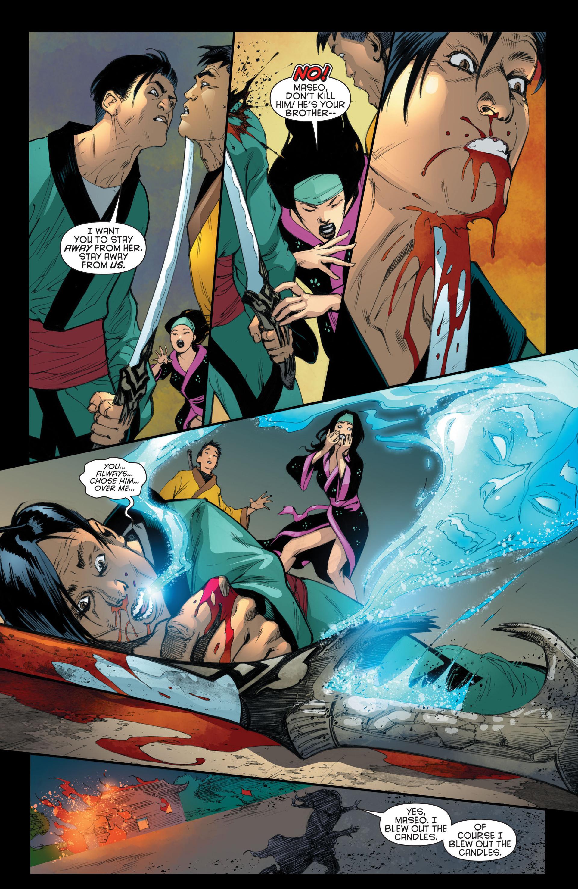 Read online Katana comic -  Issue #7 - 17