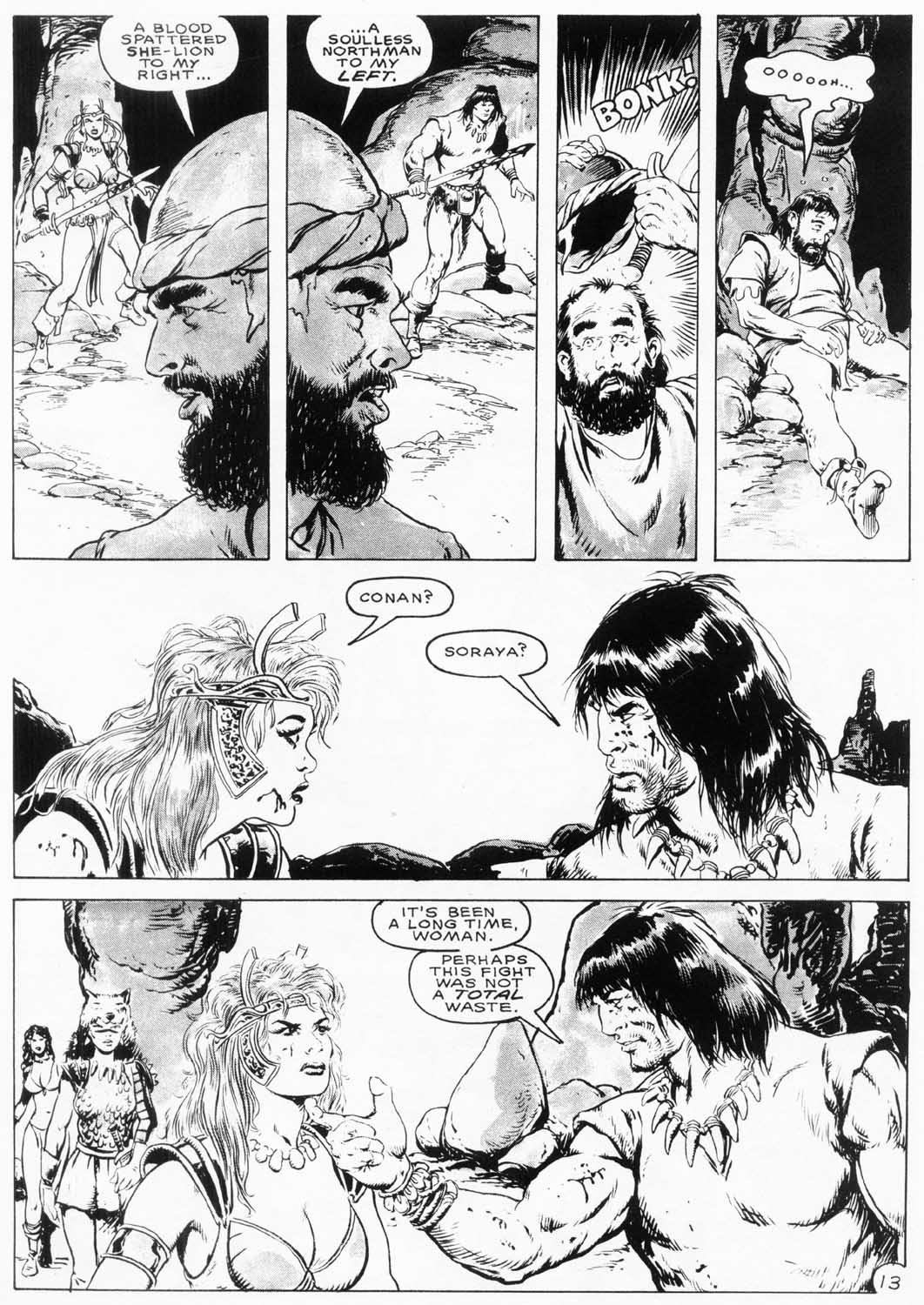 The Savage Sword Of Conan Issue #154 #155 - English 16