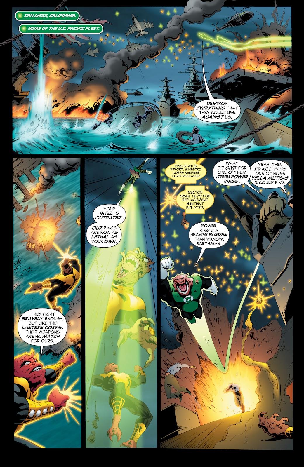 Green Lantern: The Sinestro Corps War Full #1 - English 205