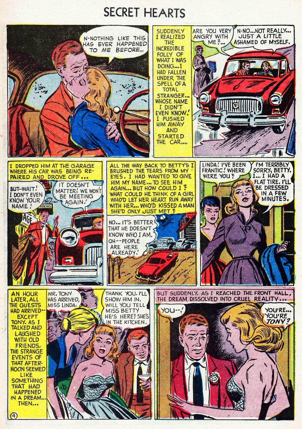 Read online Secret Hearts comic -  Issue #16 - 20