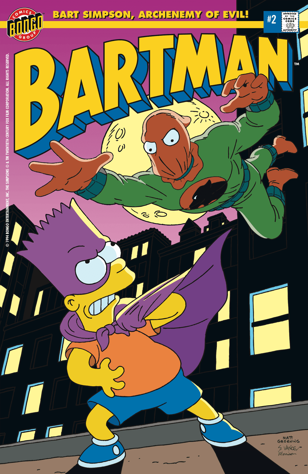 Read online Bartman comic -  Issue #2 - 1