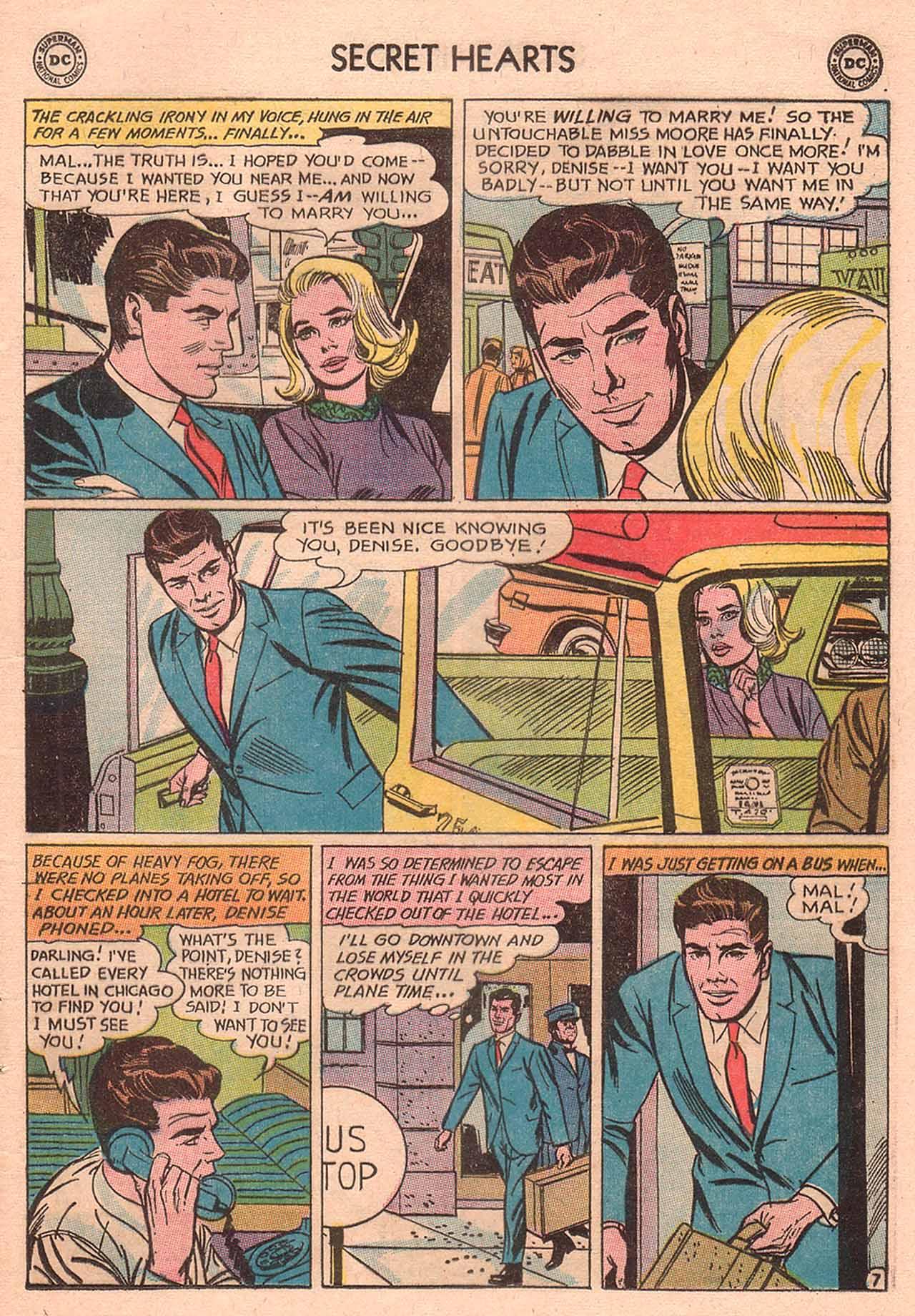 Read online Secret Hearts comic -  Issue #94 - 9