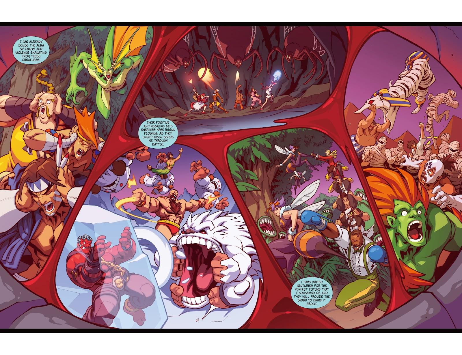 Street Fighter VS Darkstalkers Issue #1 #2 - English 20