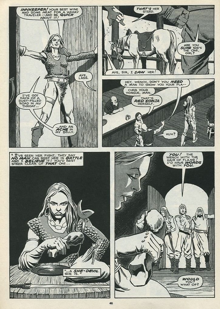 The Savage Sword Of Conan Issue #172 #173 - English 48