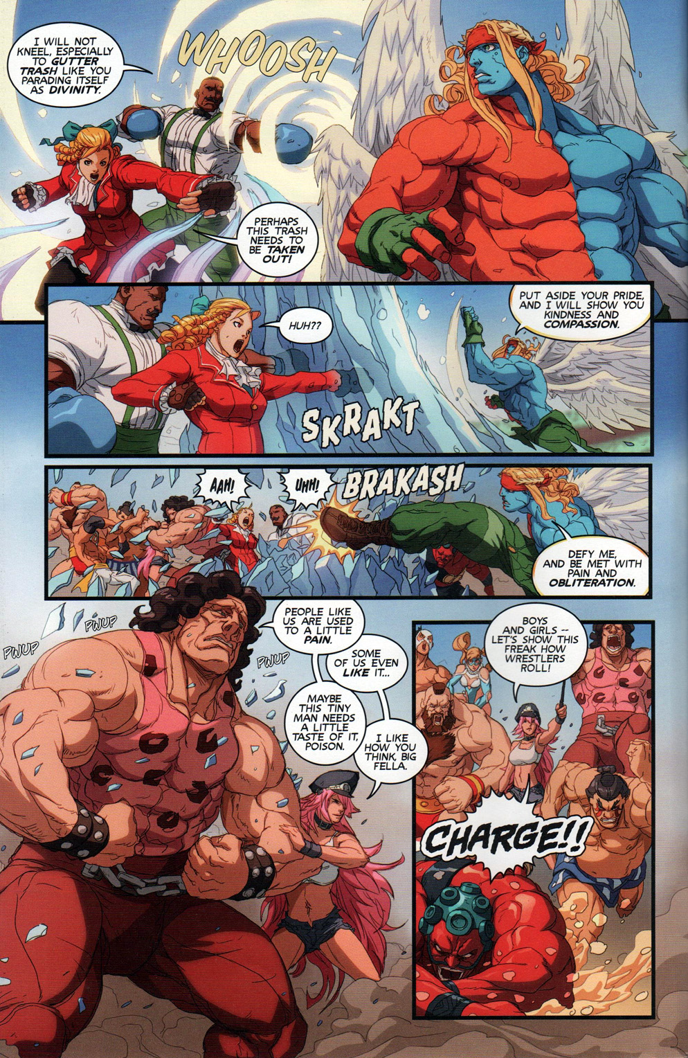 Street Fighter Unlimited Issue #11 #13 - English 8