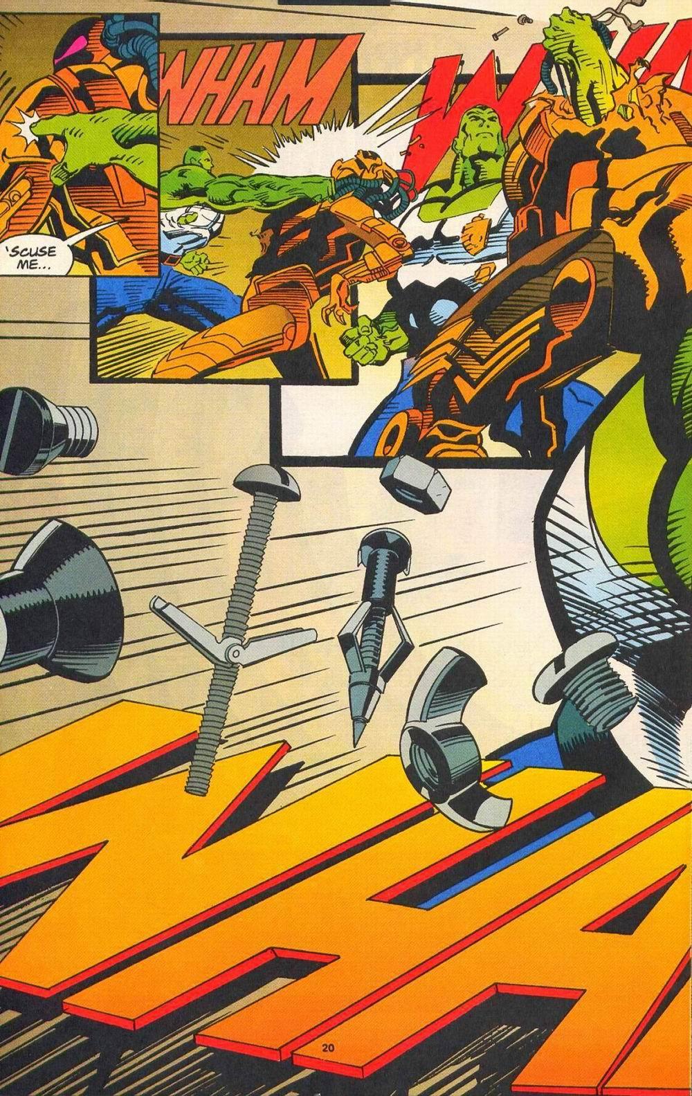 Read online Secret Defenders comic -  Issue #11 - 16