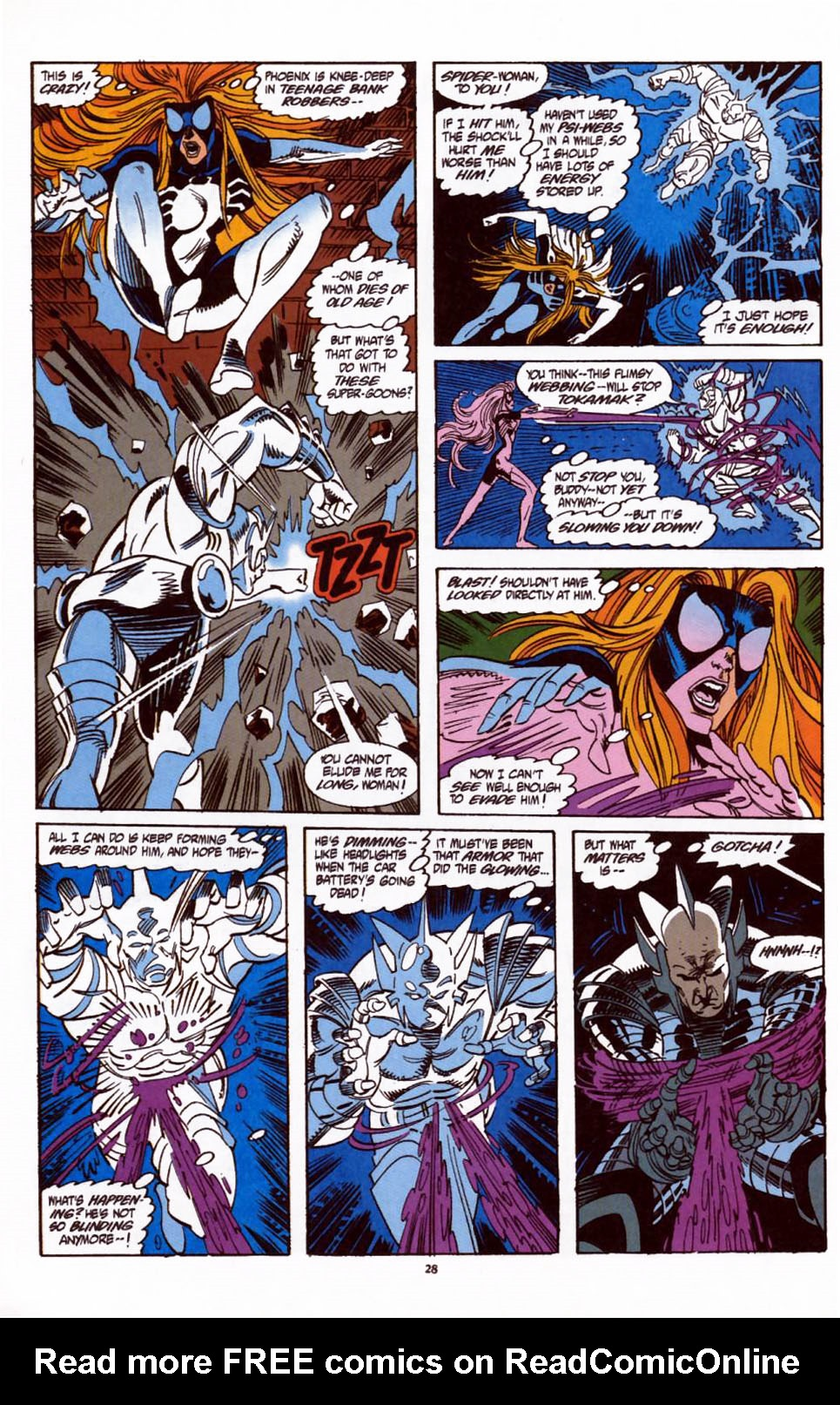 Read online Secret Defenders comic -  Issue #1 - 21