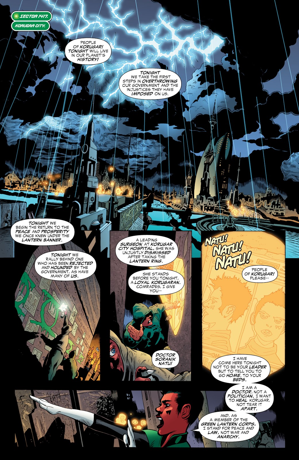 Green Lantern: The Sinestro Corps War Full #1 - English 73