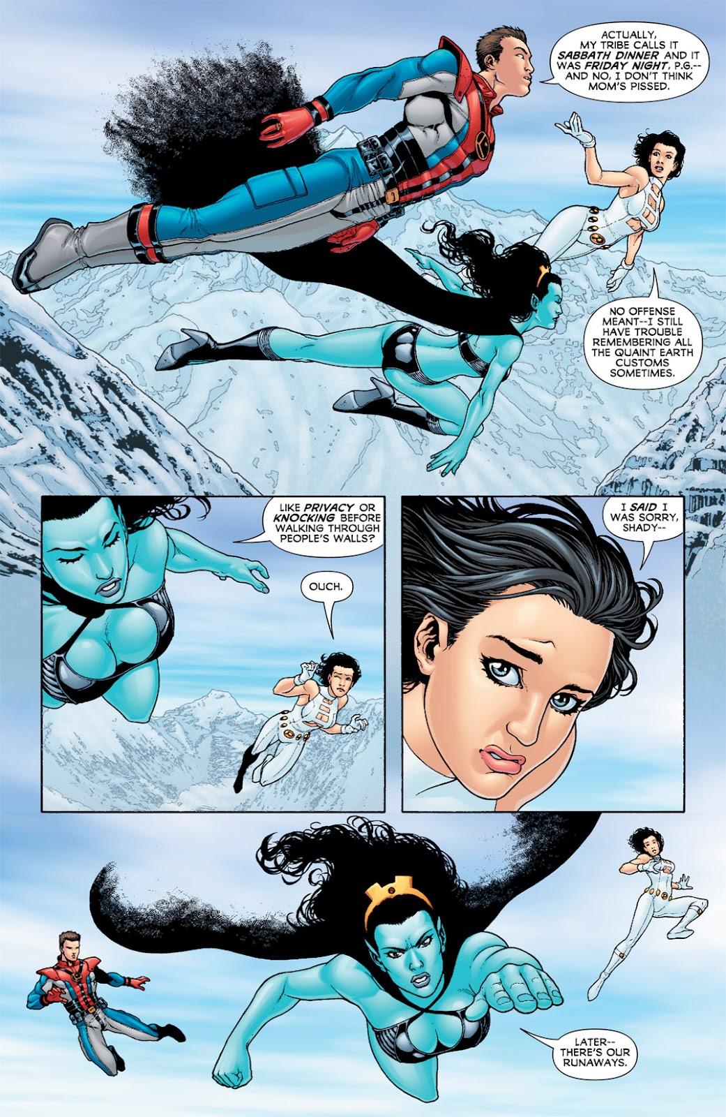 Legion of Super-Heroes (2010) Issue #6 #7 - English 4