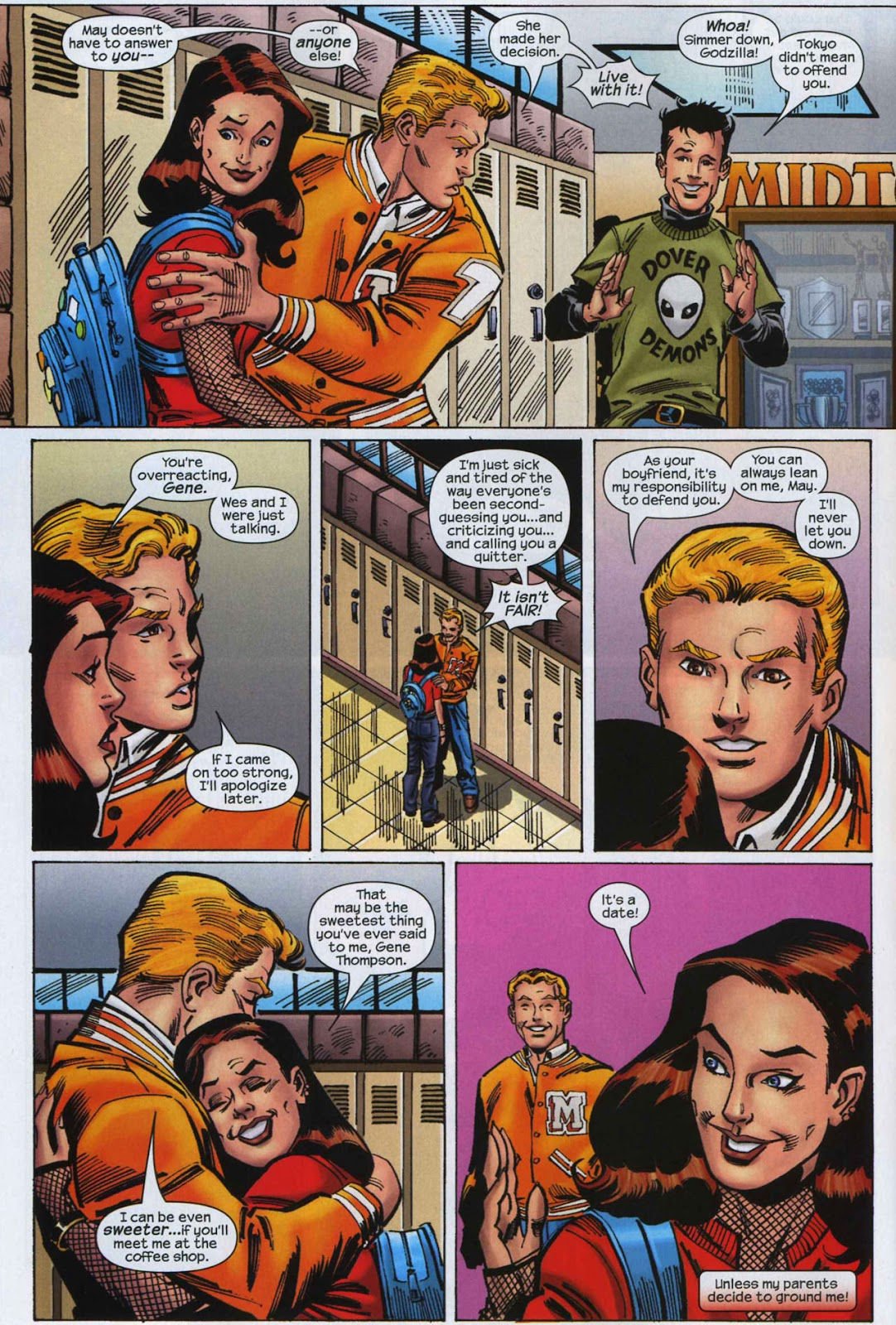 Amazing Spider-Girl Issue #7 #8 - English 13
