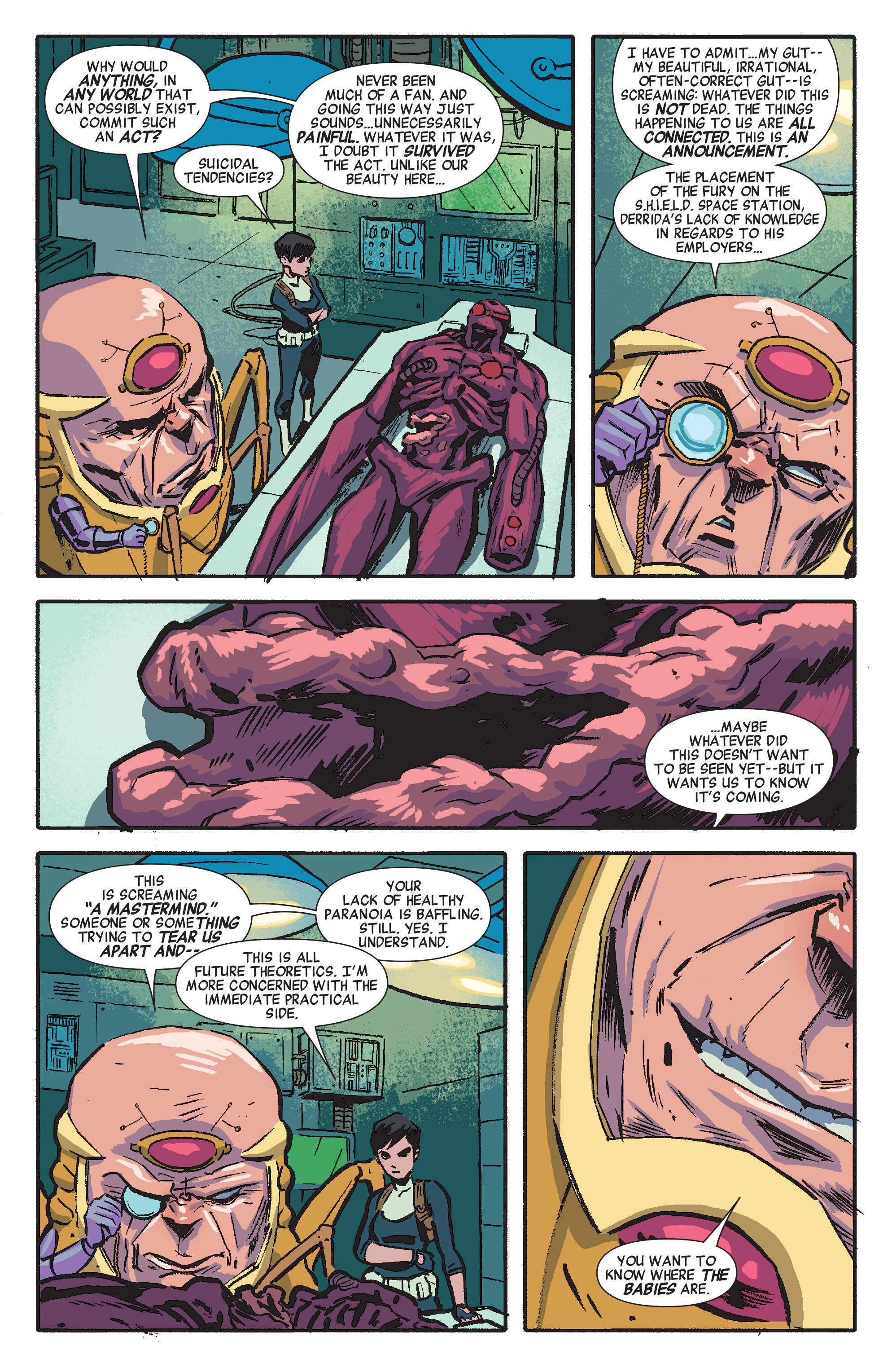 Read online Secret Avengers (2014) comic -  Issue #6 - 9