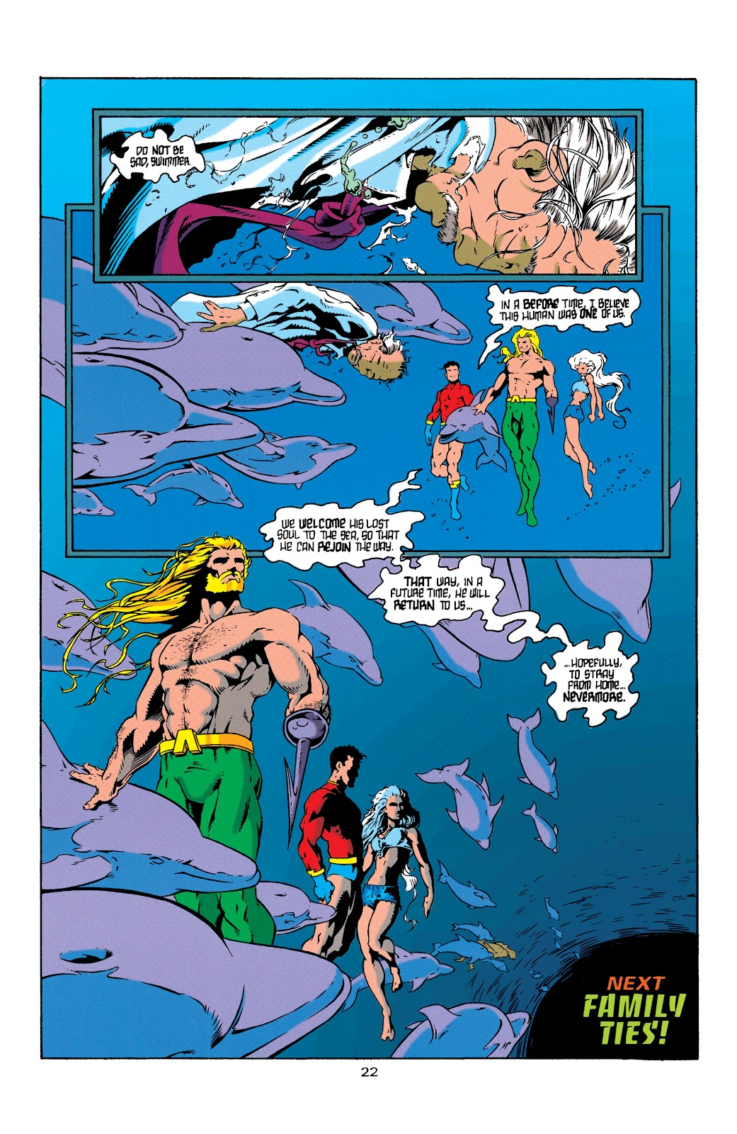Aquaman (1994) Issue #4 #10 - English 23