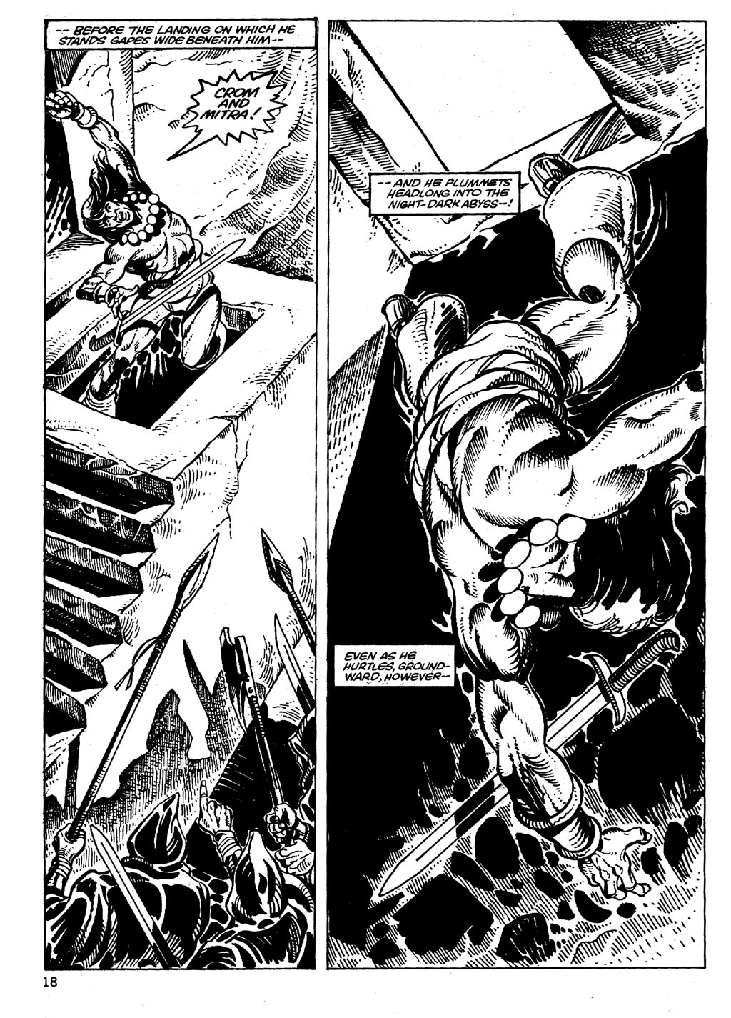 The Savage Sword Of Conan Issue #86 #87 - English 18