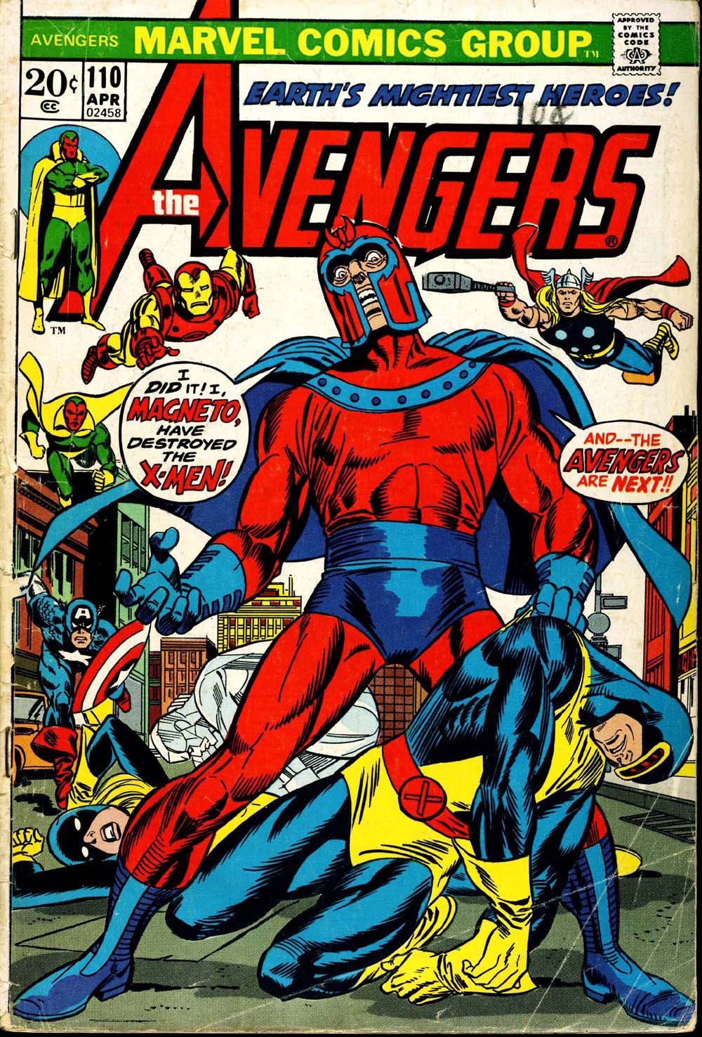 The Avengers (1963) 110 Page 1