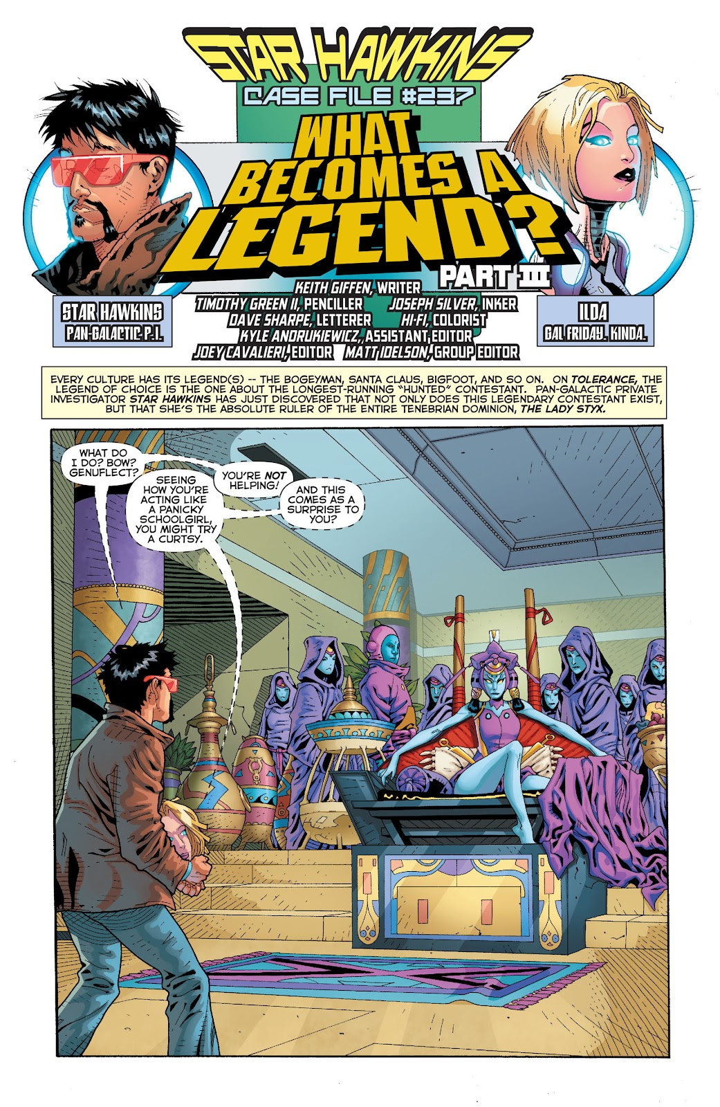 Threshold (2013) Issue #8 #8 - English 22