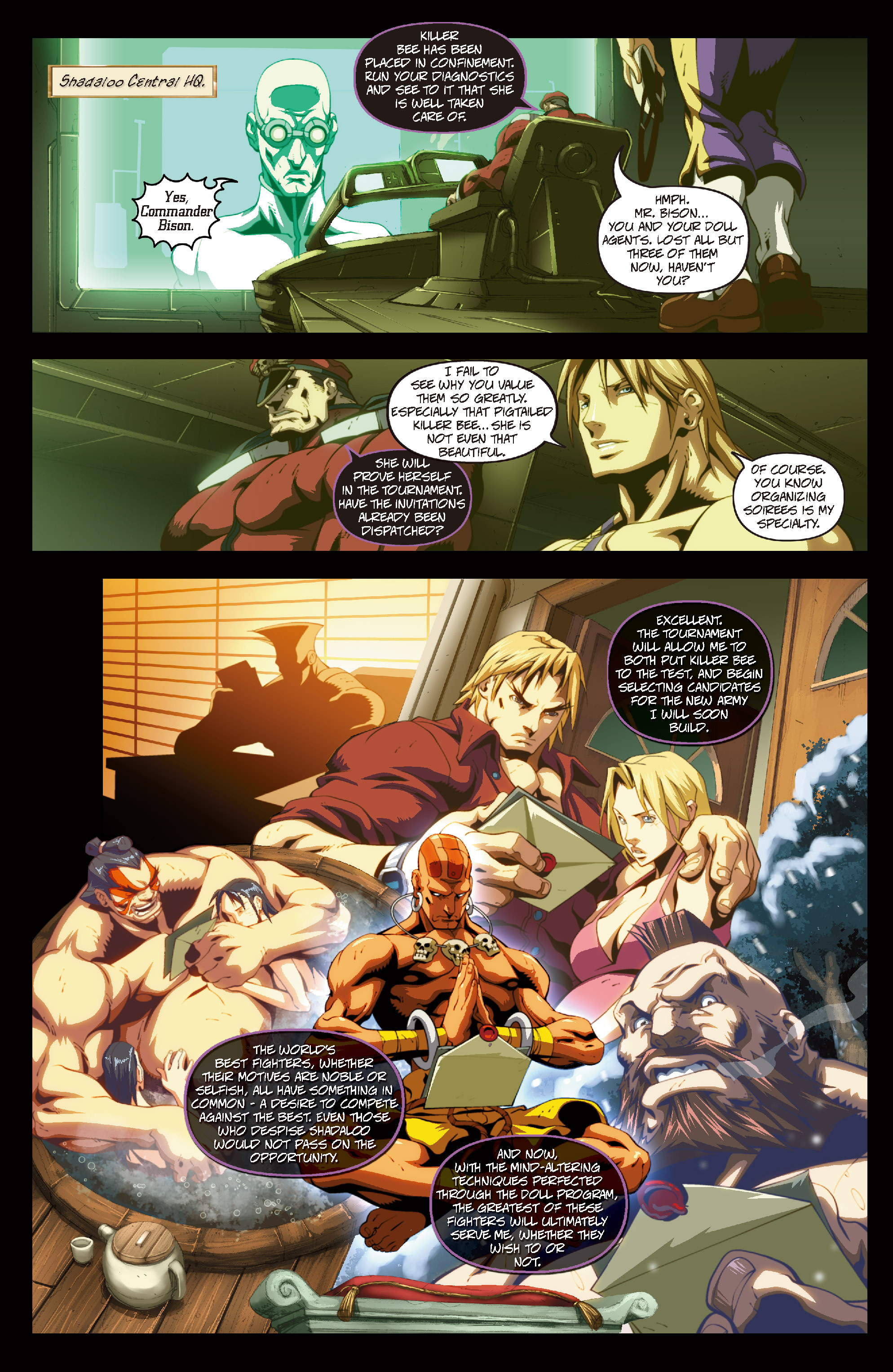 Street Fighter II chap 6 pic 22