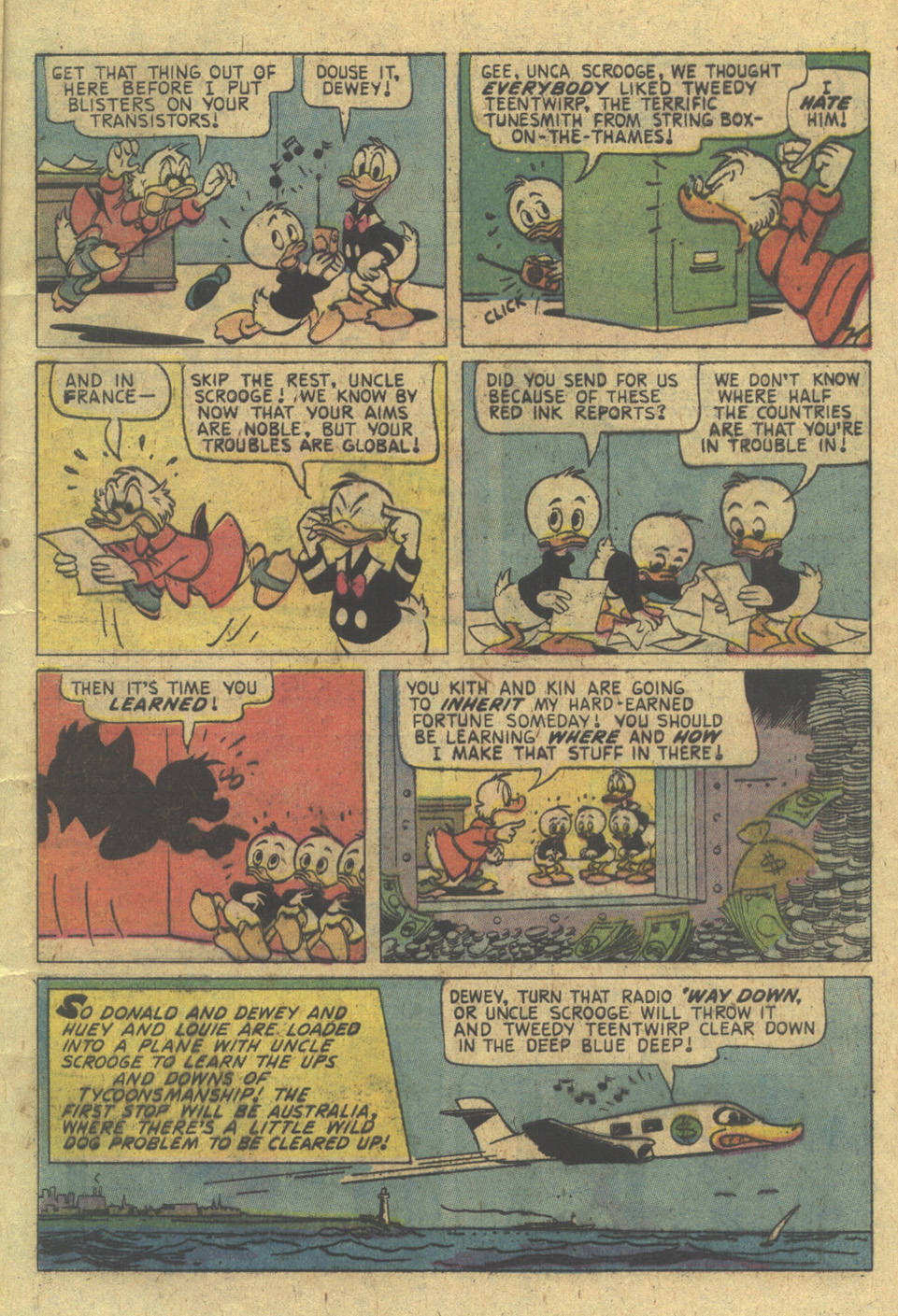 Uncle Scrooge (1953) Issue #128 #128 - English 5