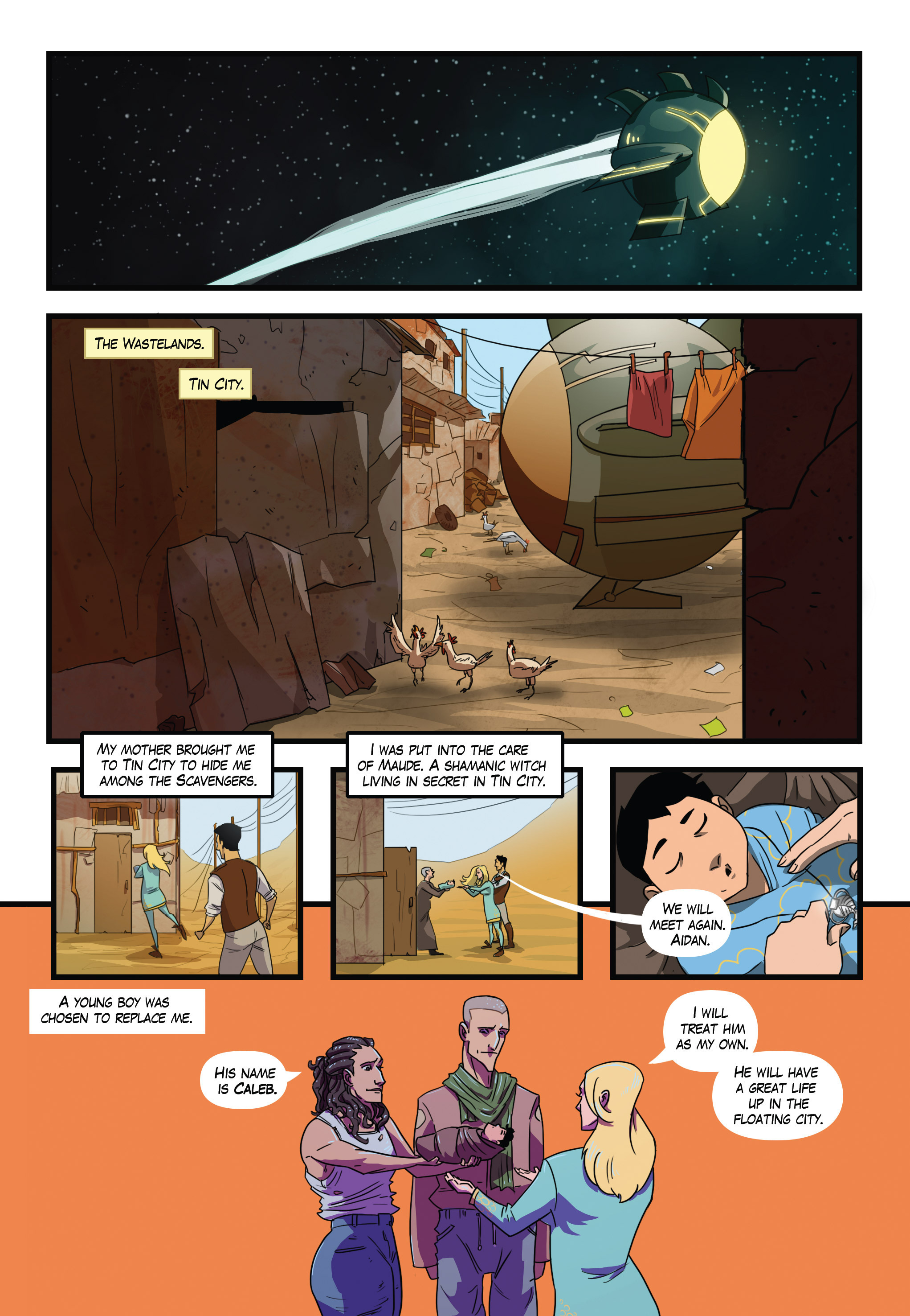 Read online Scavenger comic -  Issue #1 - 8