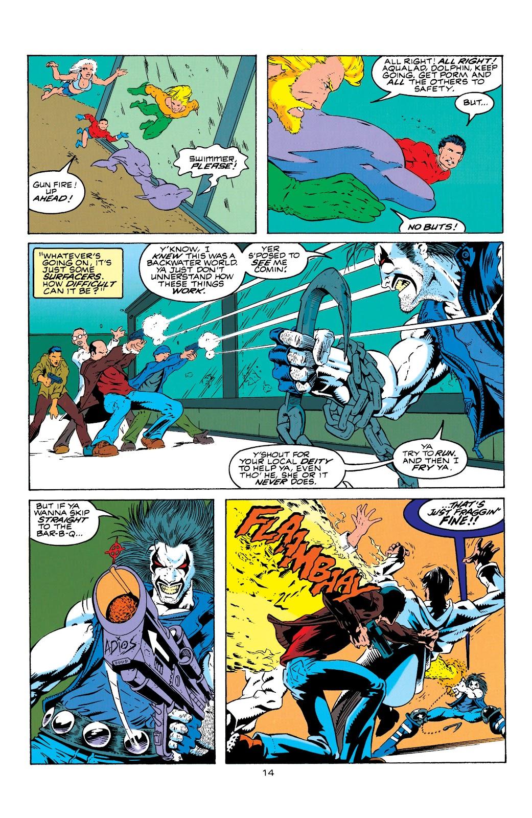 Aquaman (1994) Issue #4 #10 - English 15