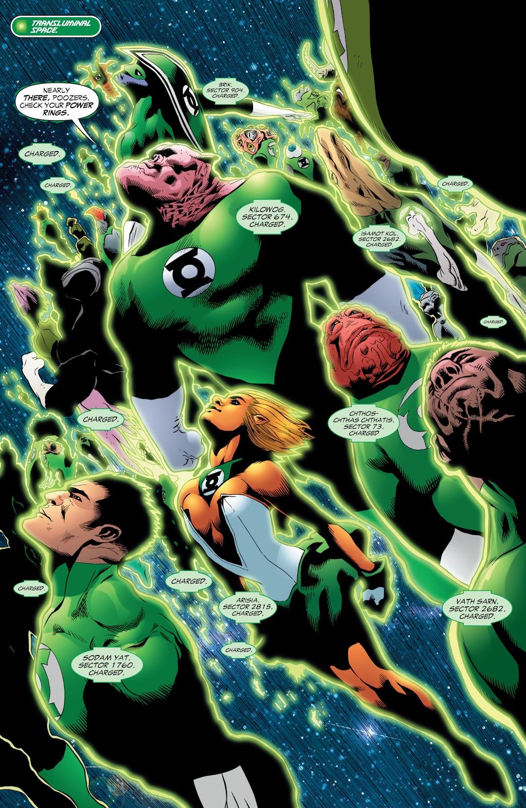 Green Lantern: The Sinestro Corps War Full #1 - English 114