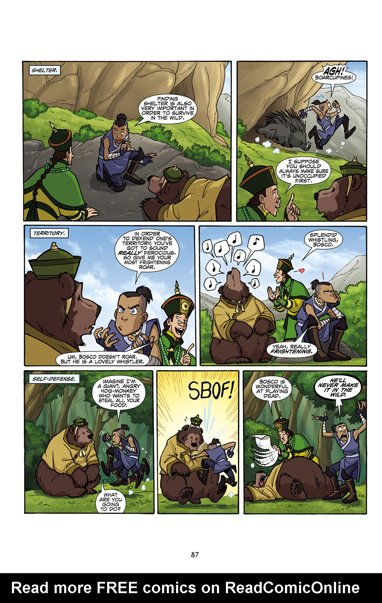 Nickelodeon Avatar: The Last Airbender - The Lost Adventures chap full pic 88