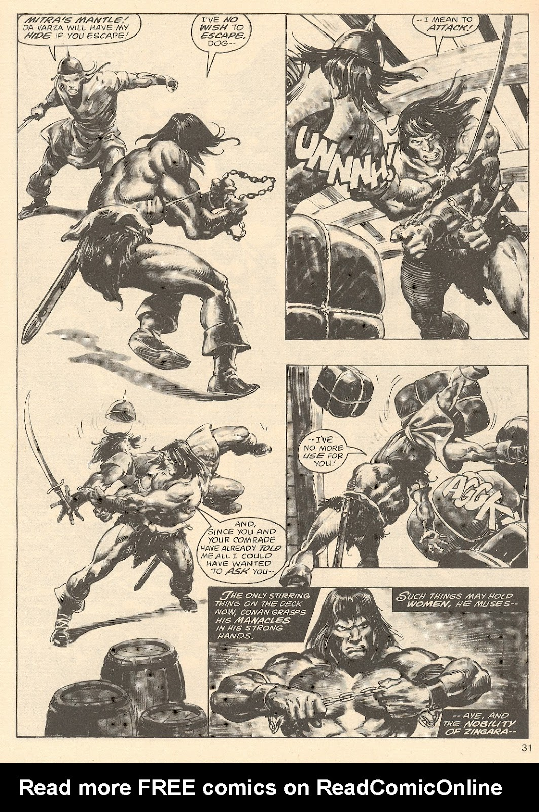 The Savage Sword Of Conan Issue #67 #68 - English 31