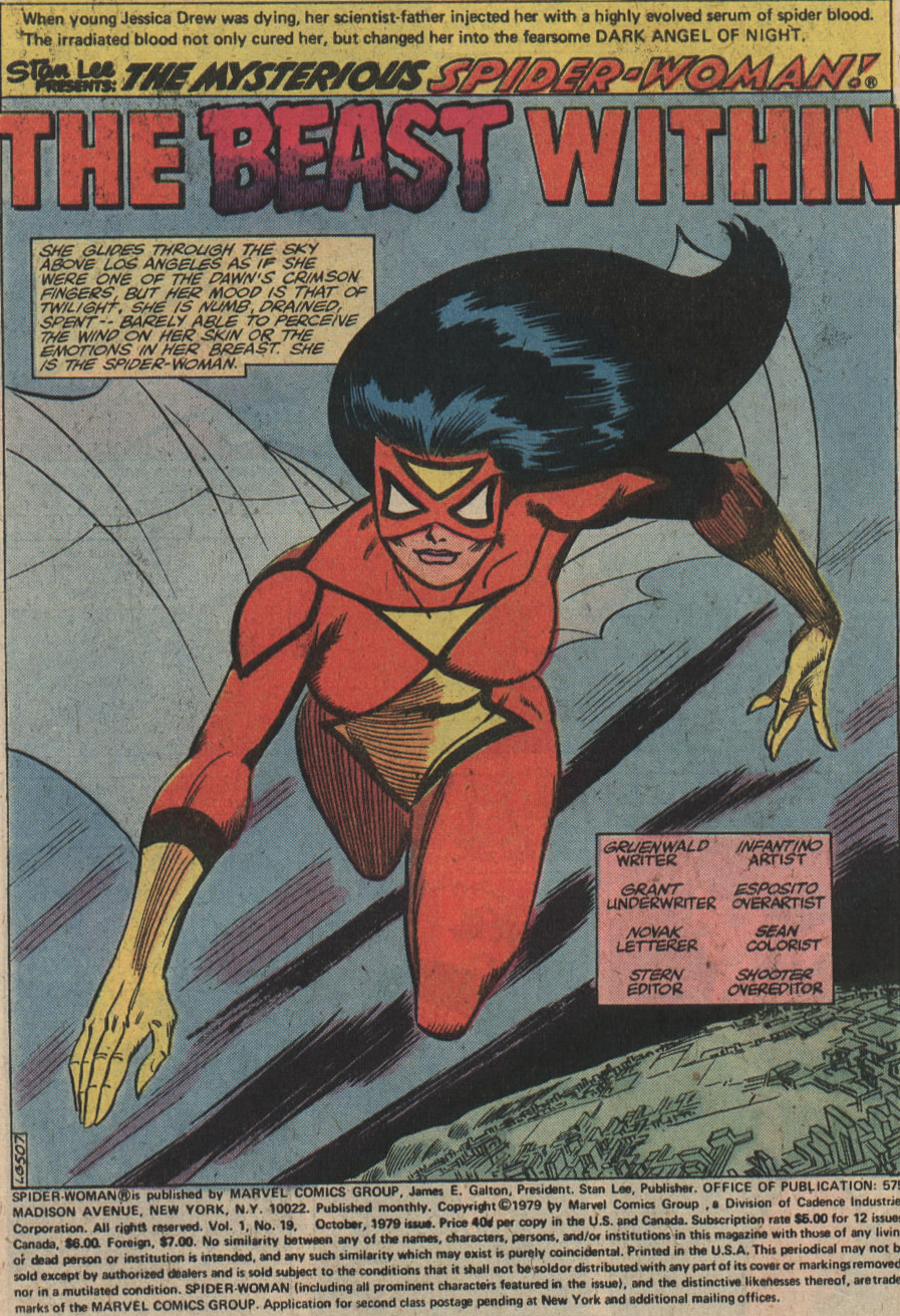 Spider-Woman (1978) Issue #19 #19 - English 2