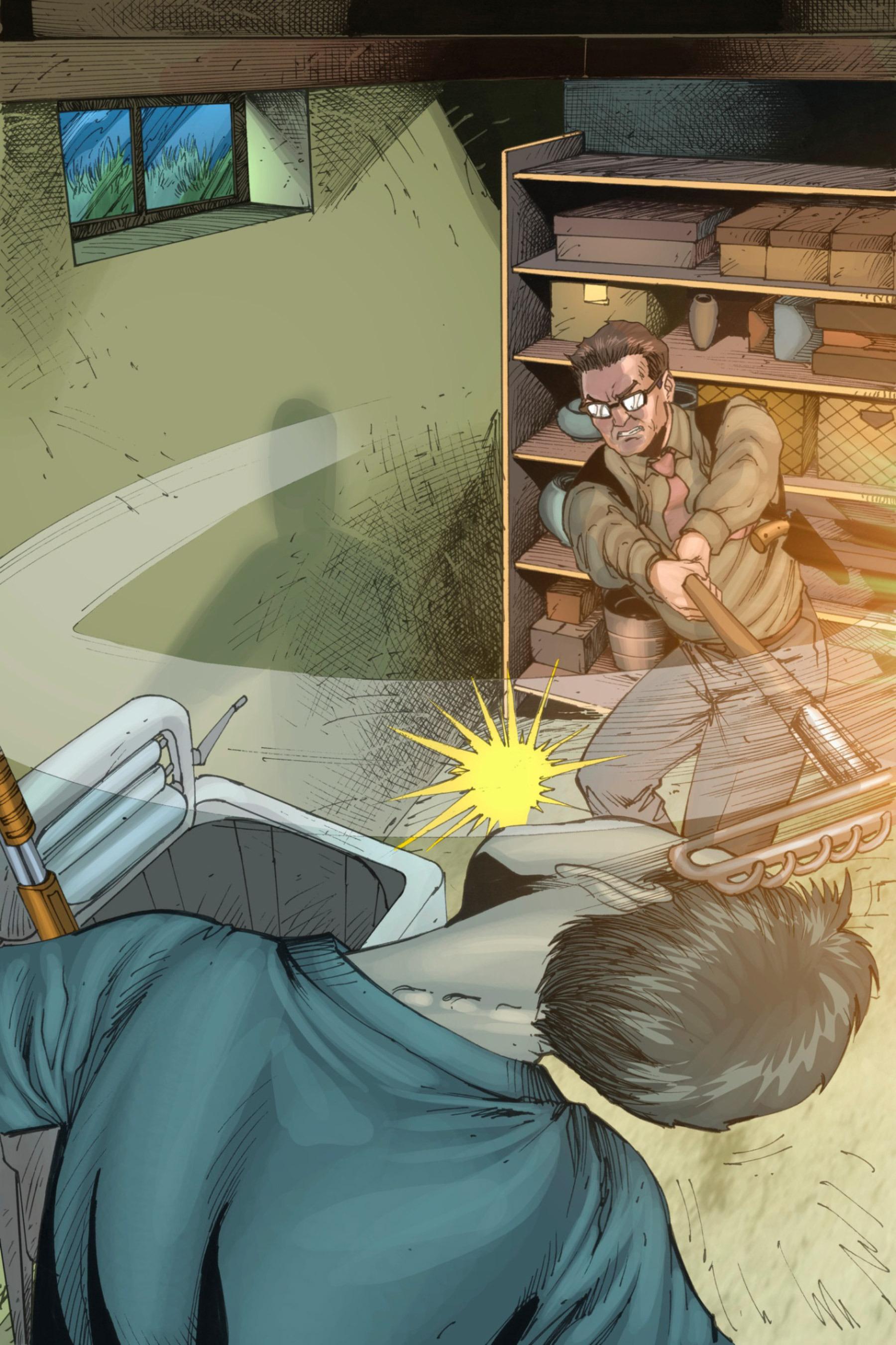 Read online Z-Men comic -  Issue #3 - 104