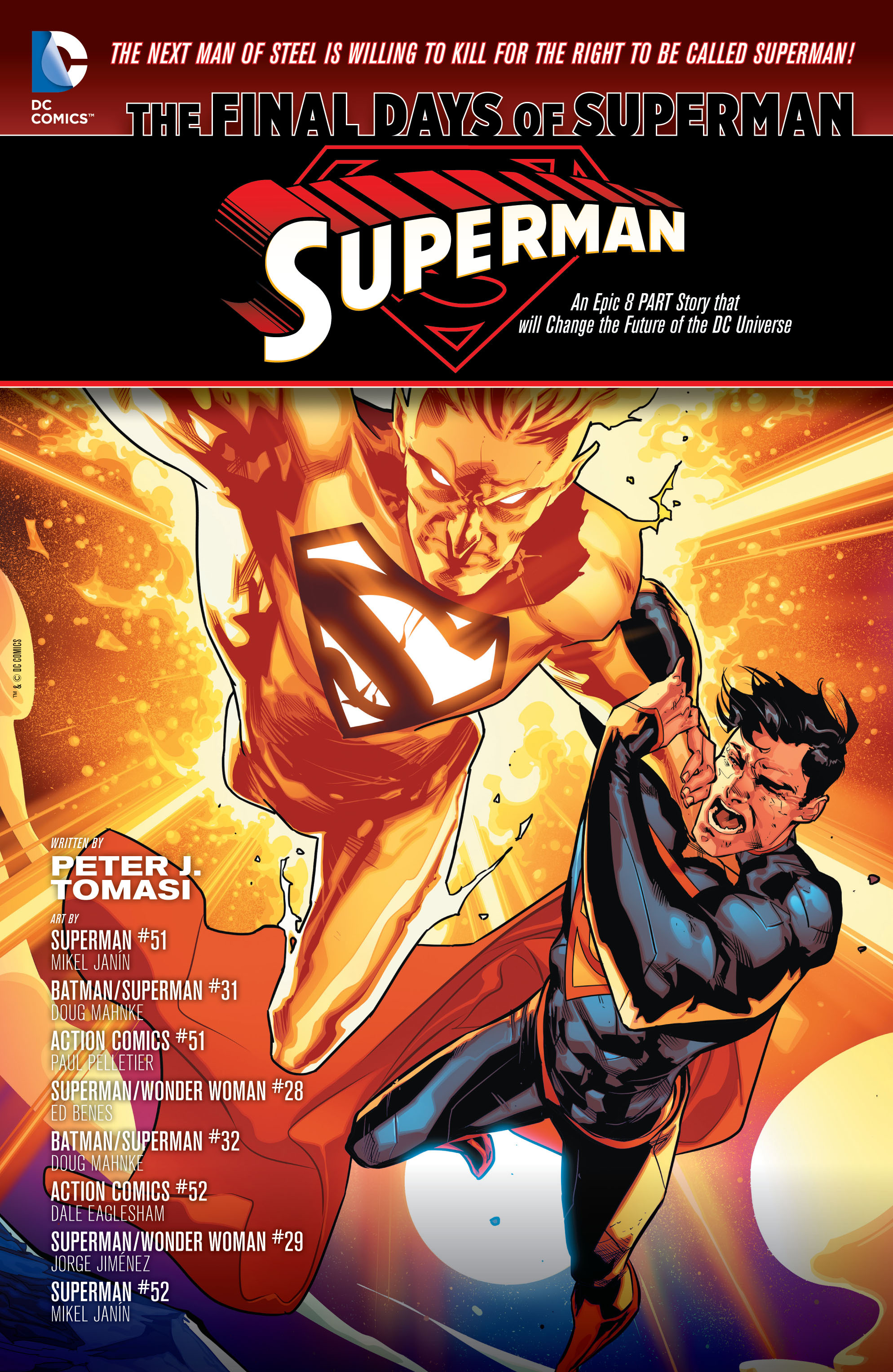 Read online Superman (2011) comic -  Issue #52 - 2