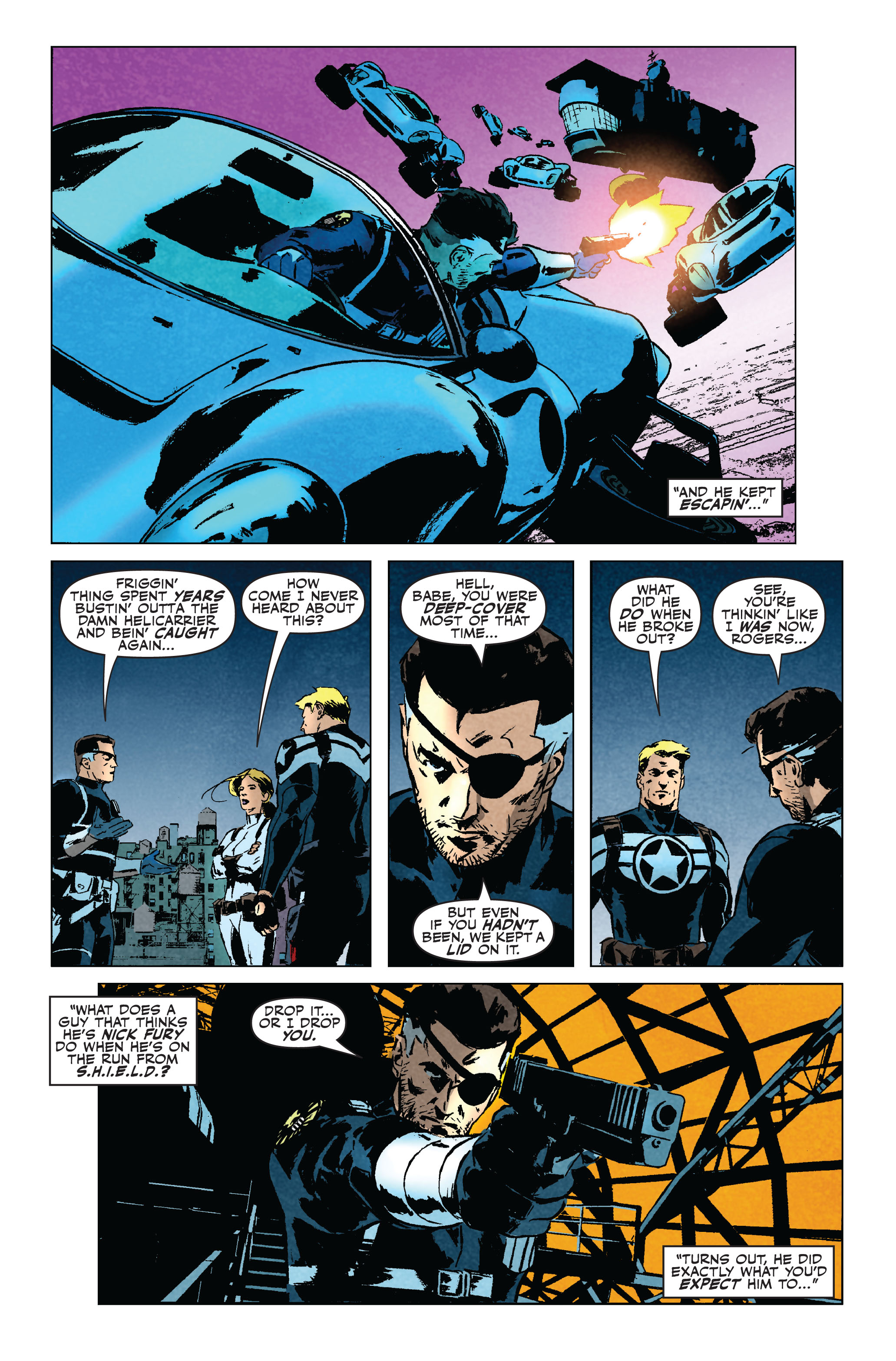 Read online Secret Avengers (2010) comic -  Issue #5 - 12