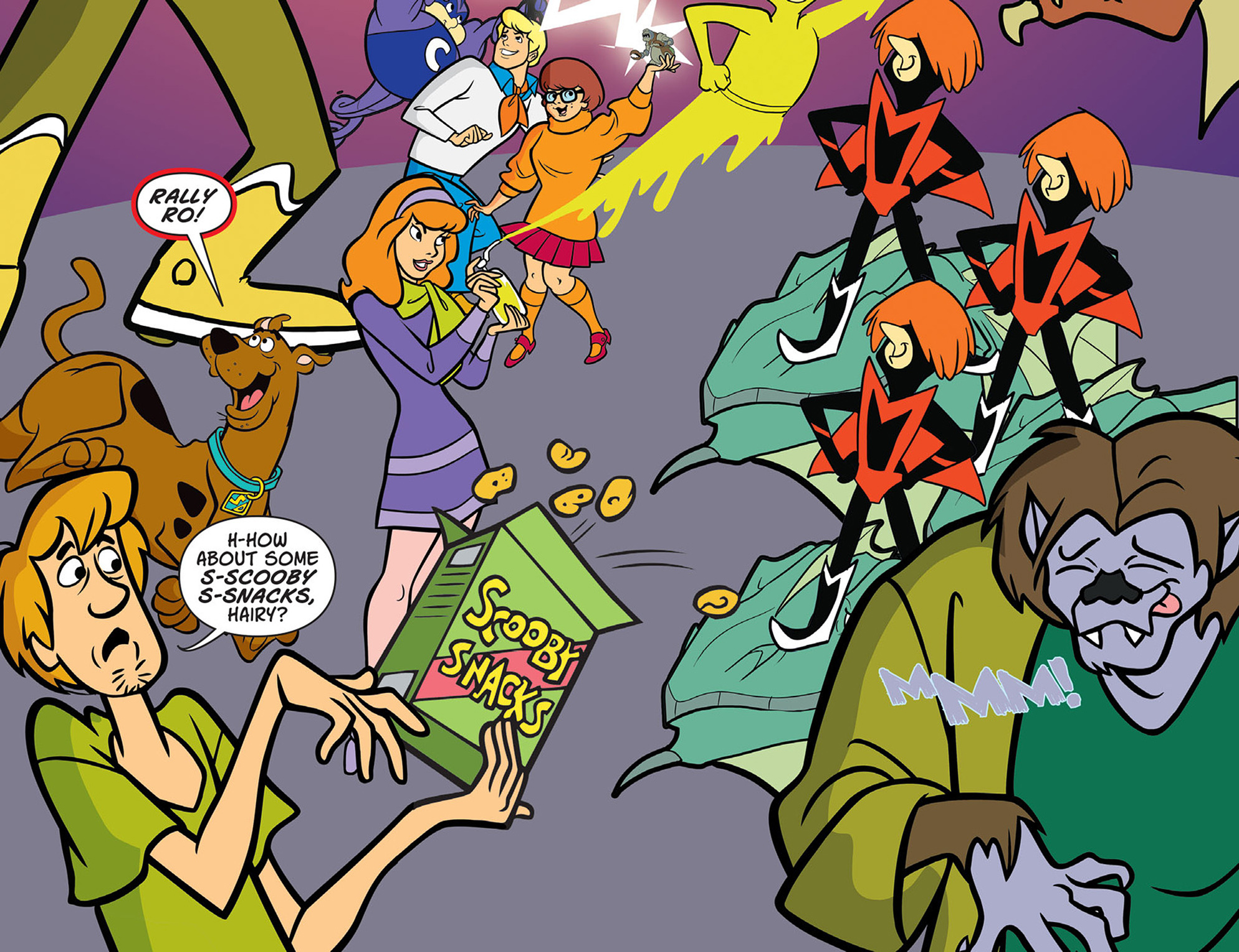 Read online Scooby-Doo! Team-Up comic -  Issue #44 - 23