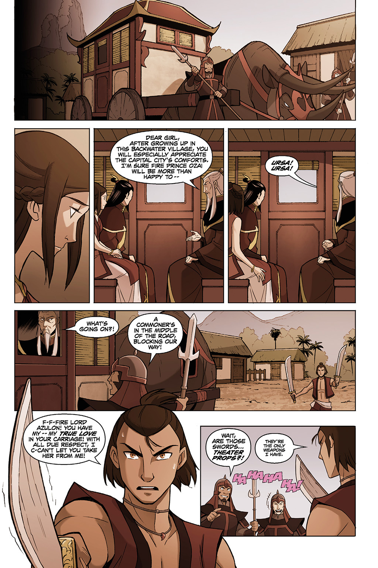 Read online Nickelodeon Avatar: The Last Airbender - The Search comic -  Issue # Part 1 - 21