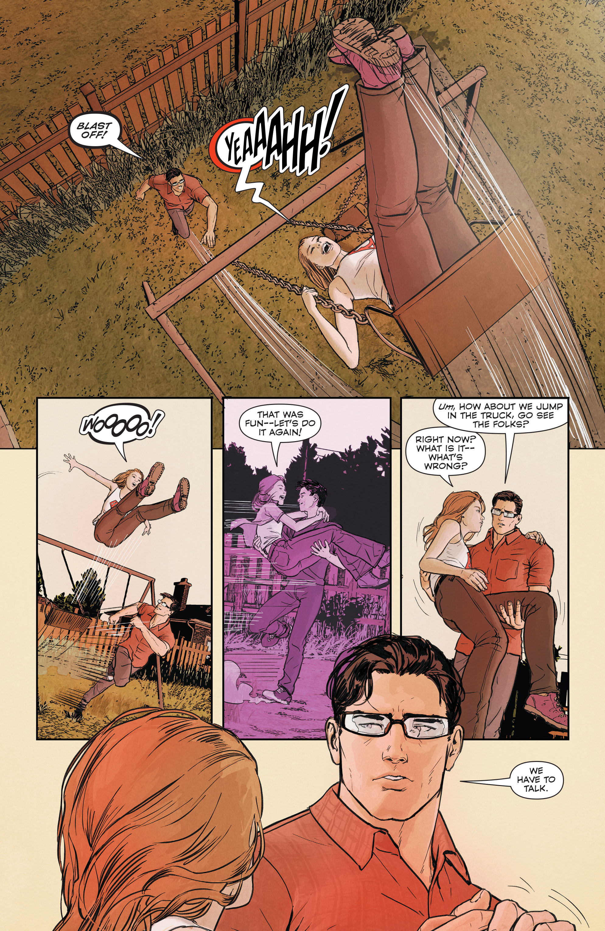 Read online Superman (2011) comic -  Issue #51 - 14