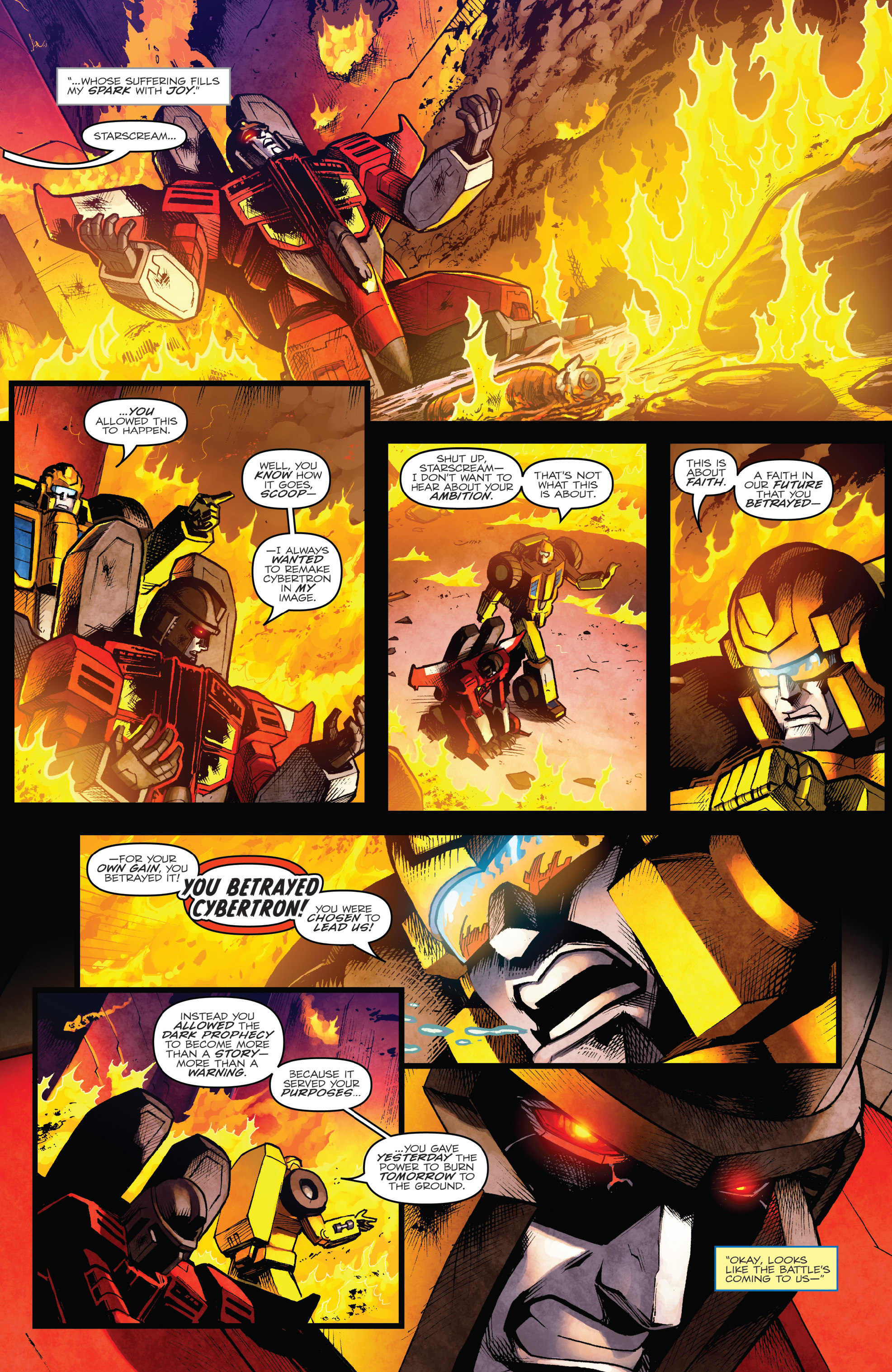 Read online The Transformers: Dark Cybertron Finale comic -  Issue # Full - 24