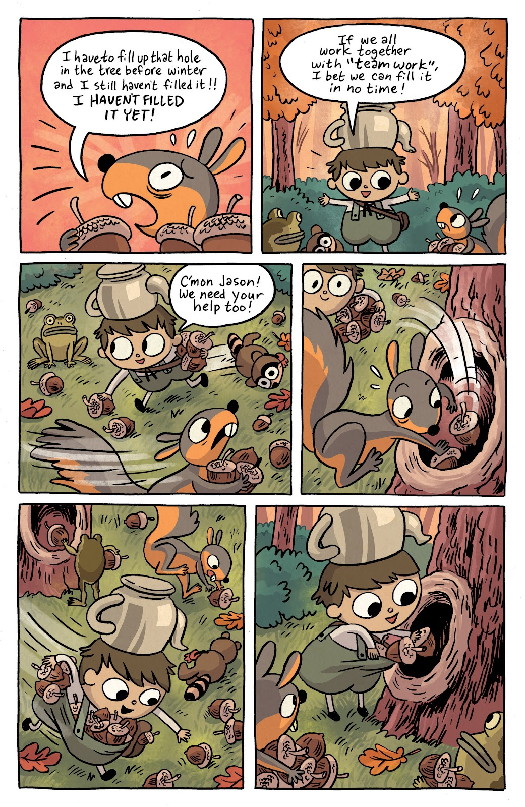 Over the Garden Wall (2016) Issue #2 #2 - English 6